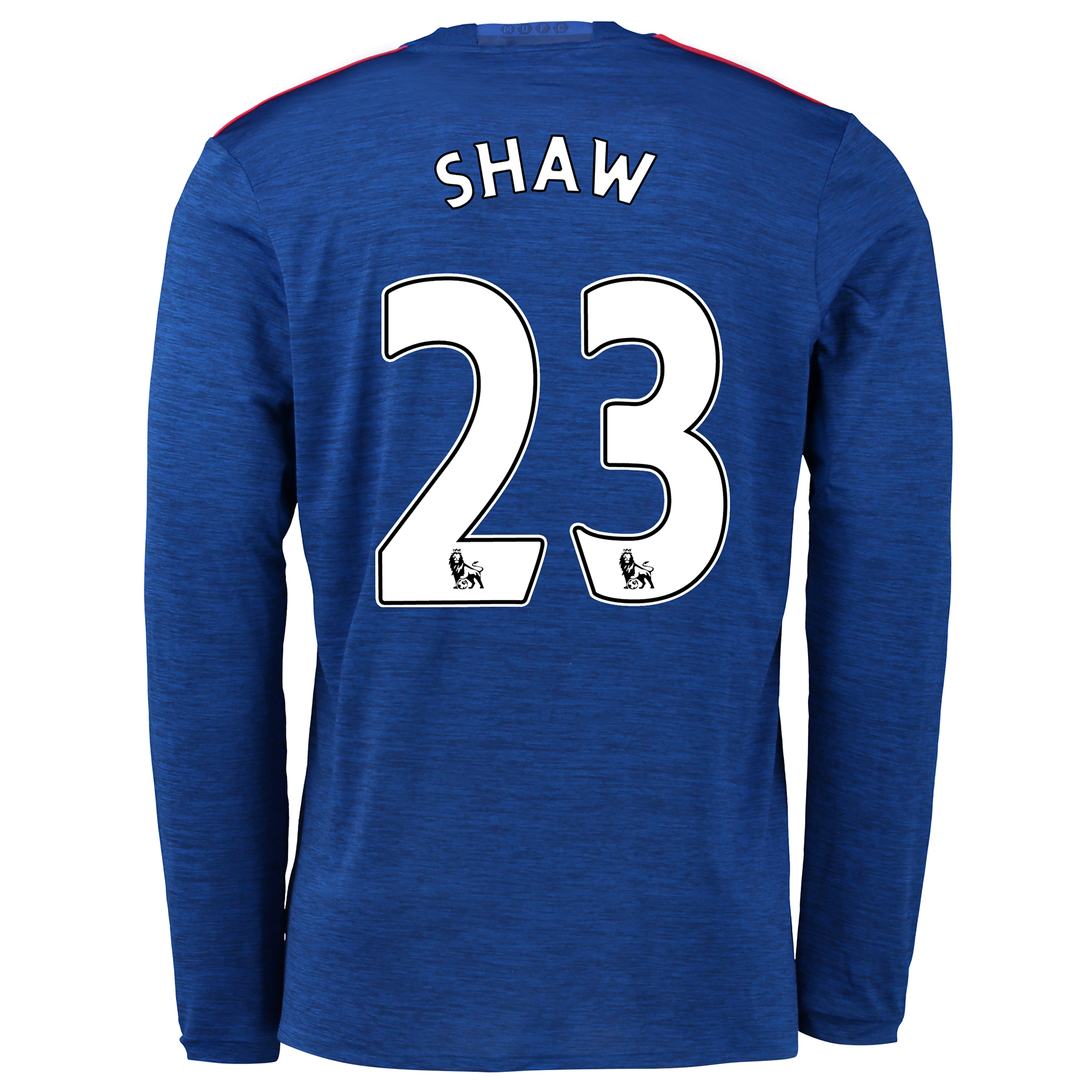 Manchester United Away Shirt 2016-17 - Long Sleeve with Shaw 23 printi