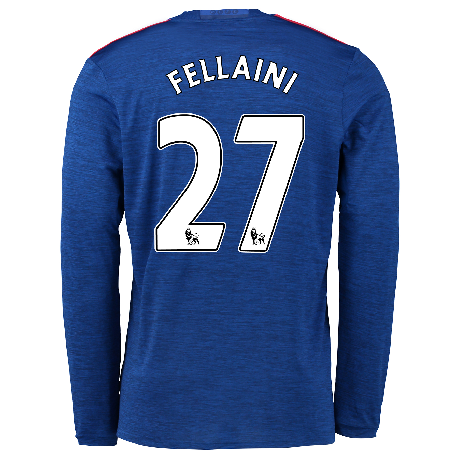 Manchester United Away Shirt 2016-17 - Long Sleeve with Fellaini 27 pr