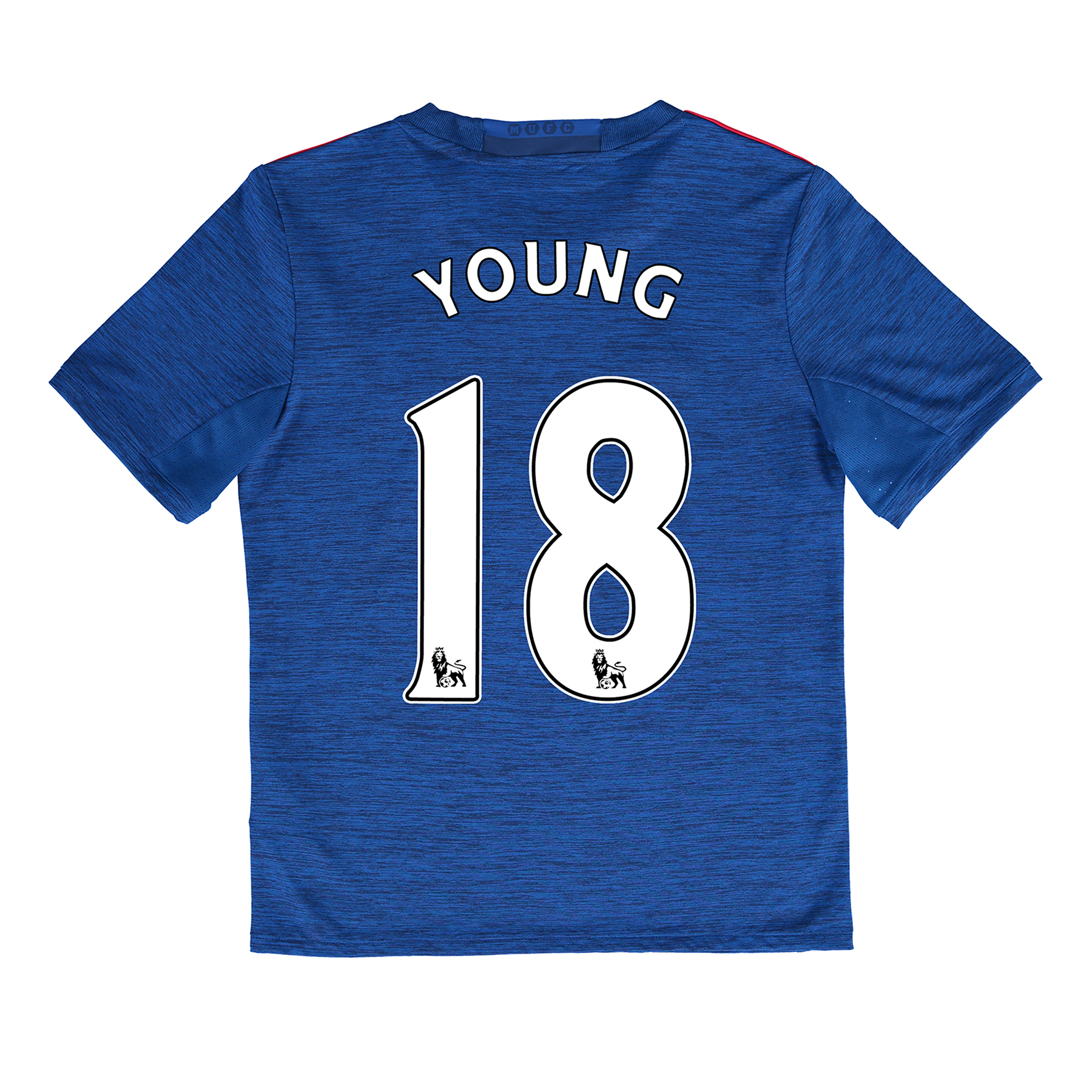 Manchester United Away Shirt 2016-17 - Kids with Young 18 printing