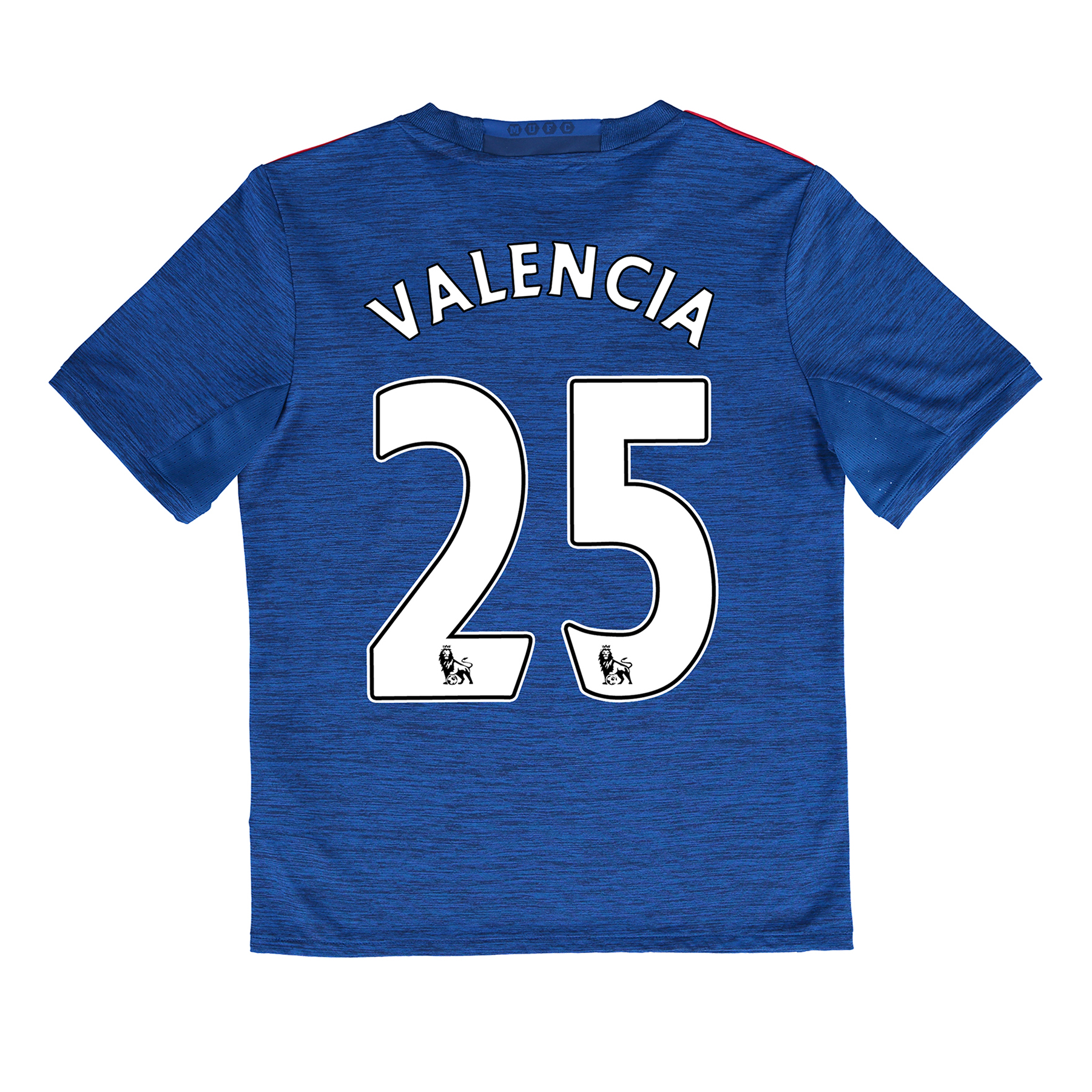 Manchester United Away Shirt 2016-17 - Kids with Valencia 25 printing
