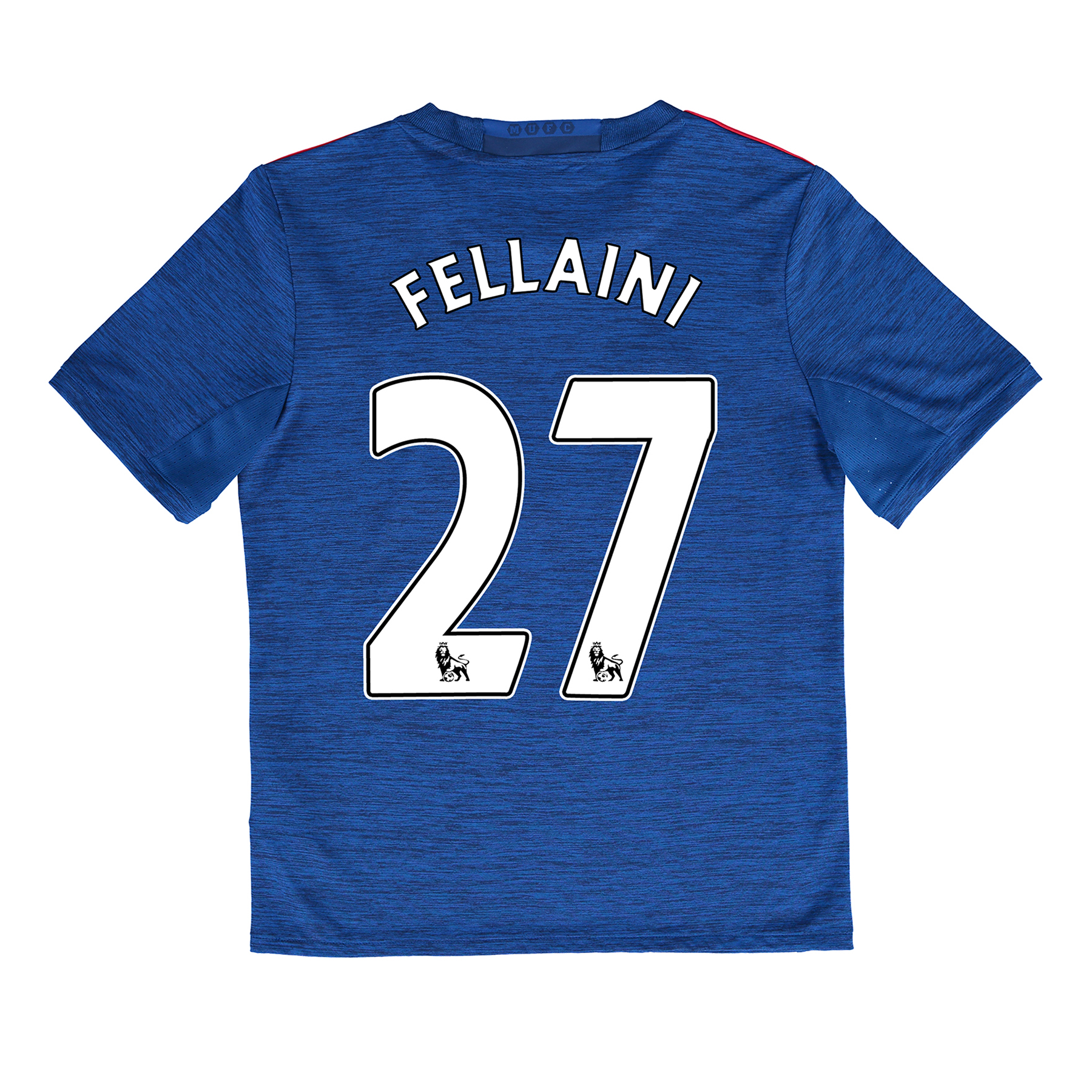 Manchester United Away Shirt 2016-17 - Kids with Fellaini 27 printing