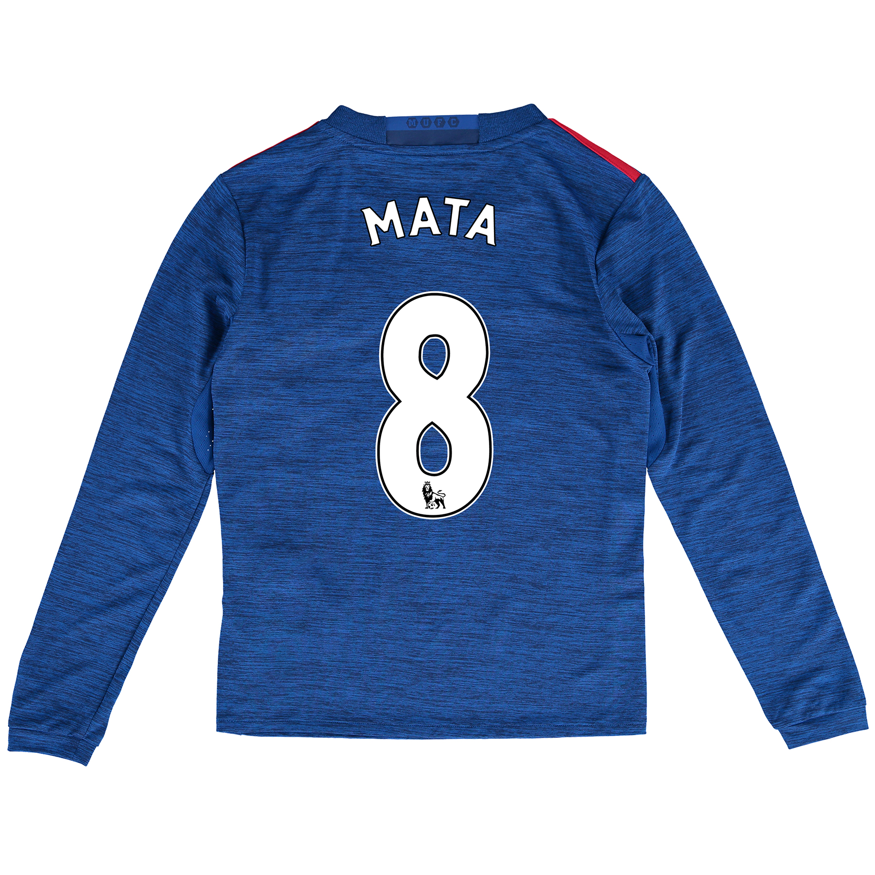 Manchester United Away Shirt 2016-17 - Kids - Long Sleeve with Mata 8