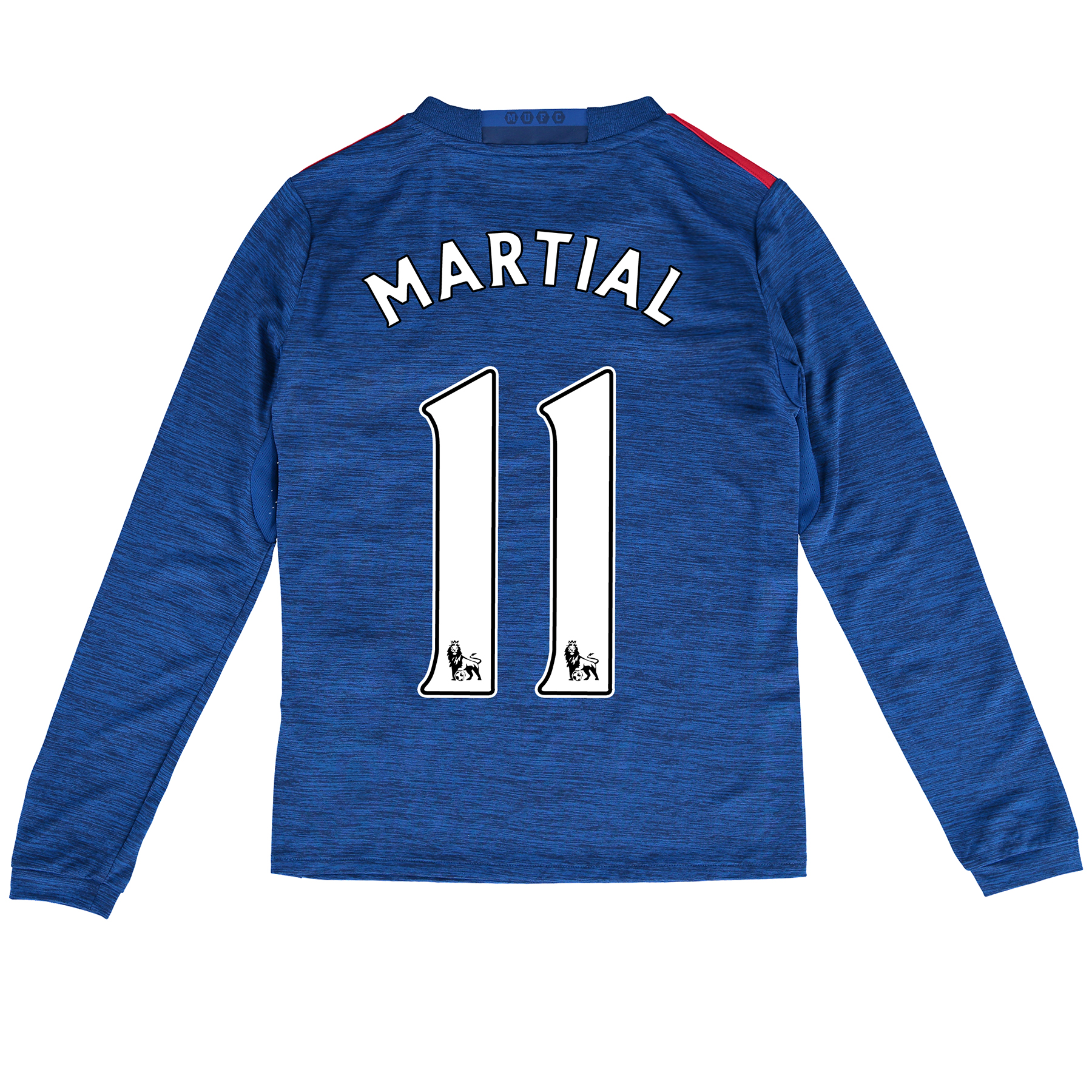 Manchester United Away Shirt 2016-17 - Kids - Long Sleeve with Martial