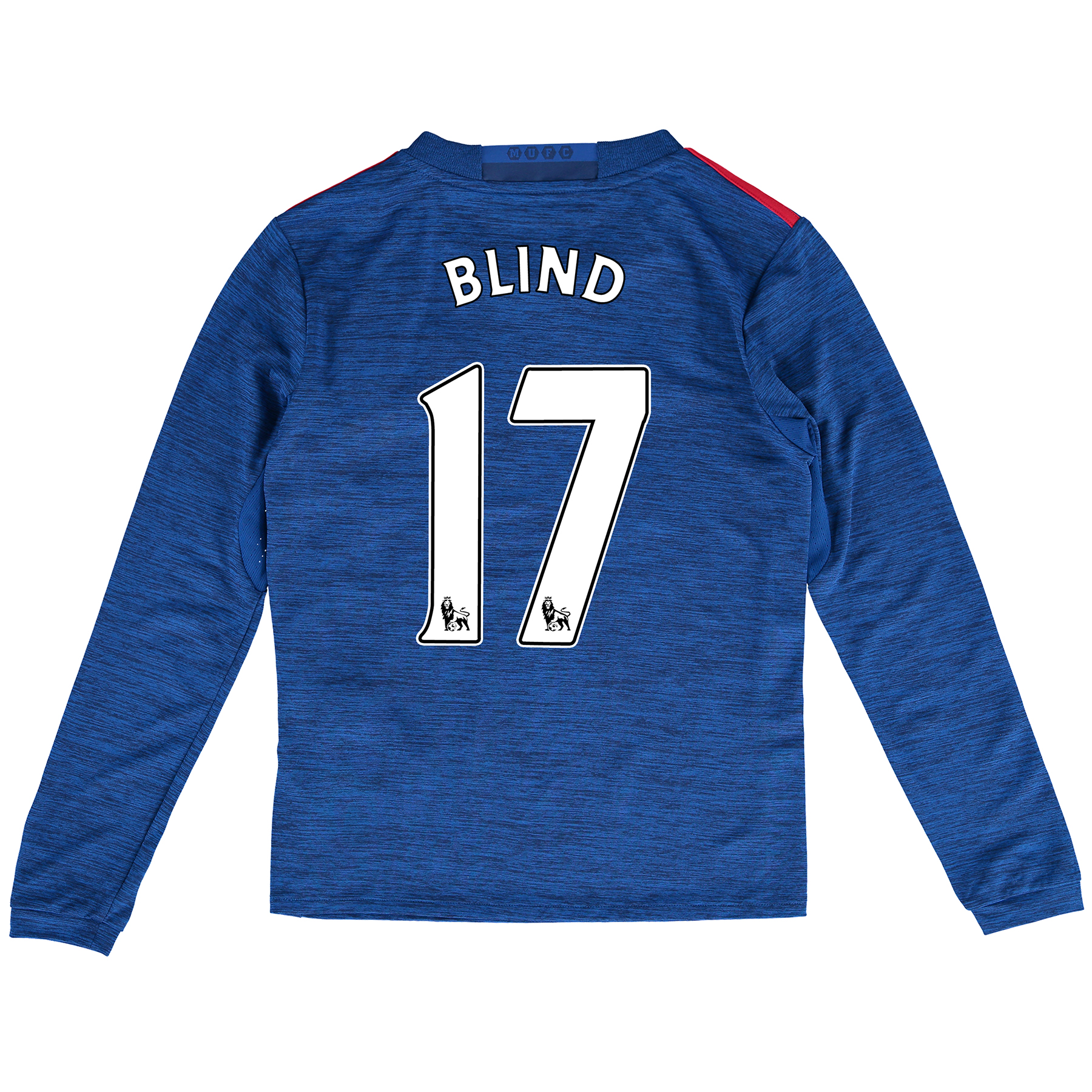 Manchester United Away Shirt 2016-17 - Kids - Long Sleeve with Blind 1