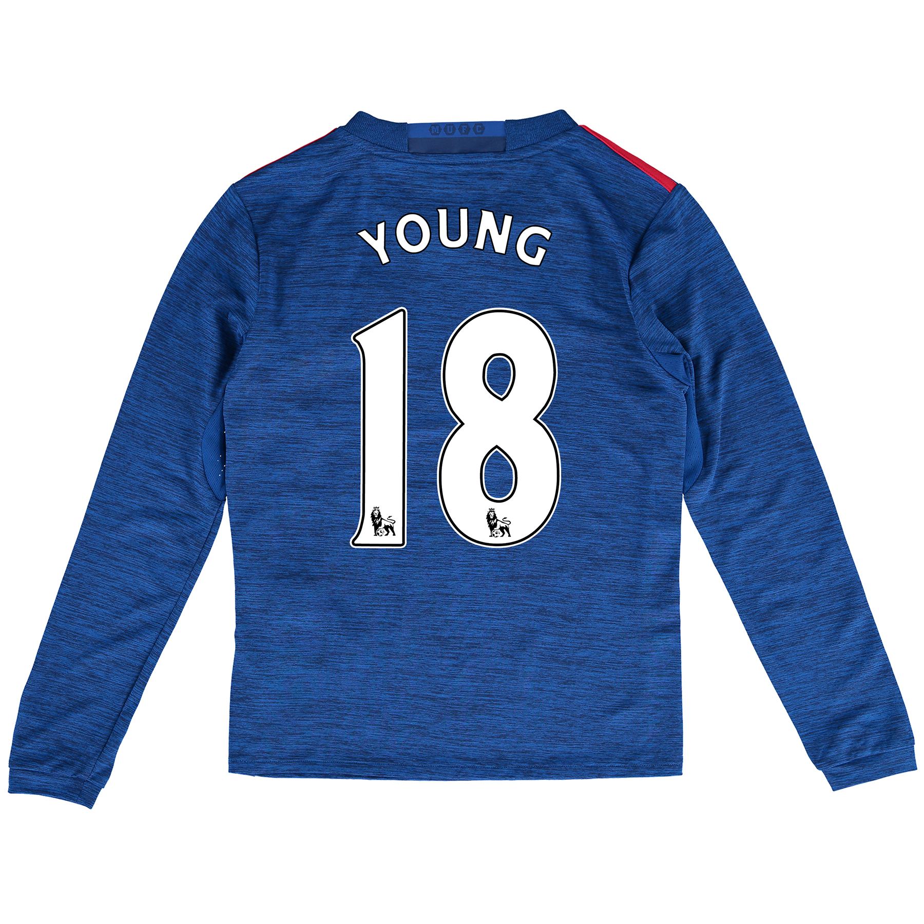 Manchester United Away Shirt 2016-17 - Kids - Long Sleeve with Young 1