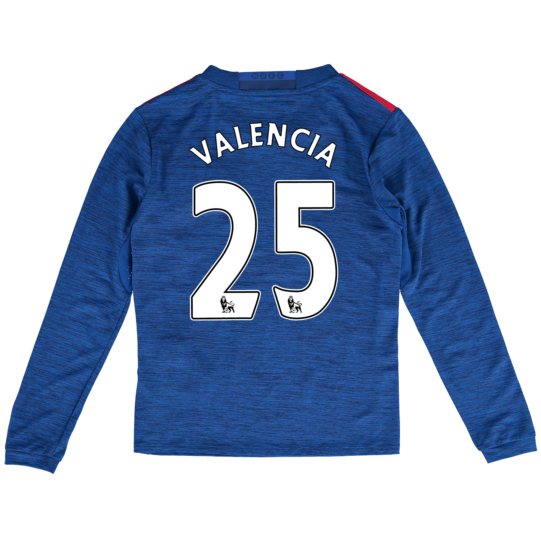 Manchester United Away Shirt 2016-17 - Kids - Long Sleeve with Valenci