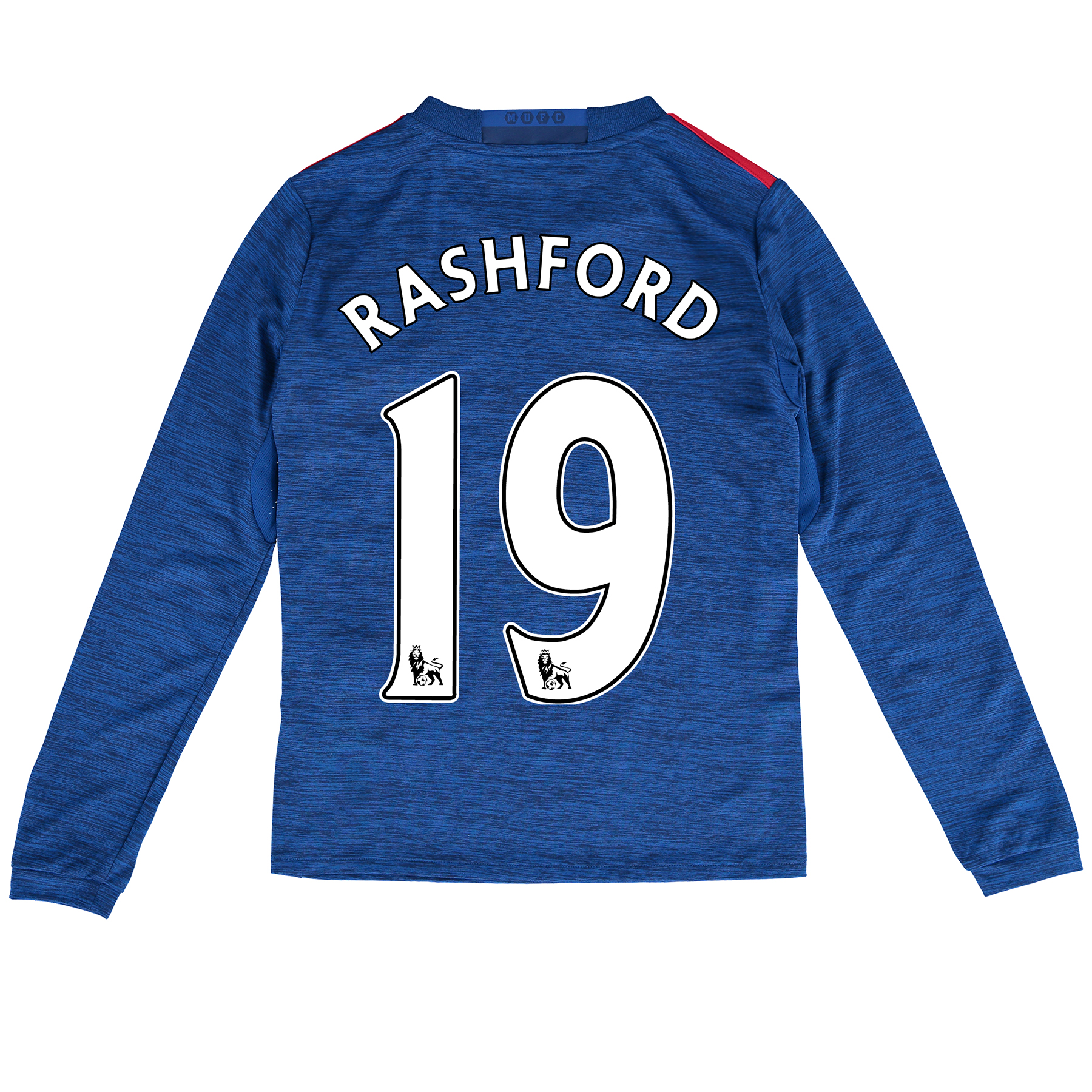 Manchester United Away Shirt 2016-17 - Kids - Long Sleeve with Rashfor