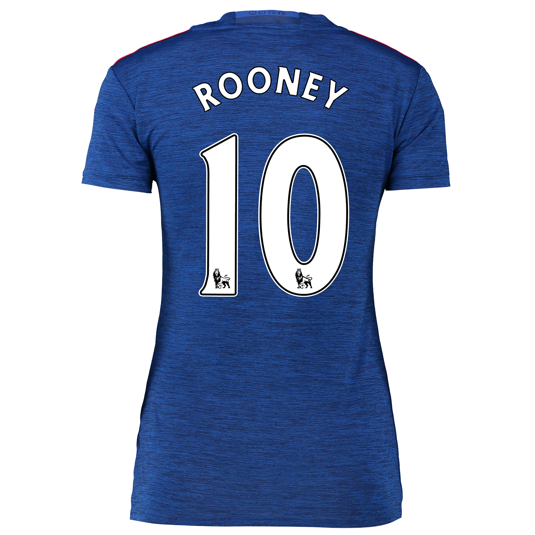 Manchester United Away Shirt 2016-17 - Womens with Rooney 10 printing