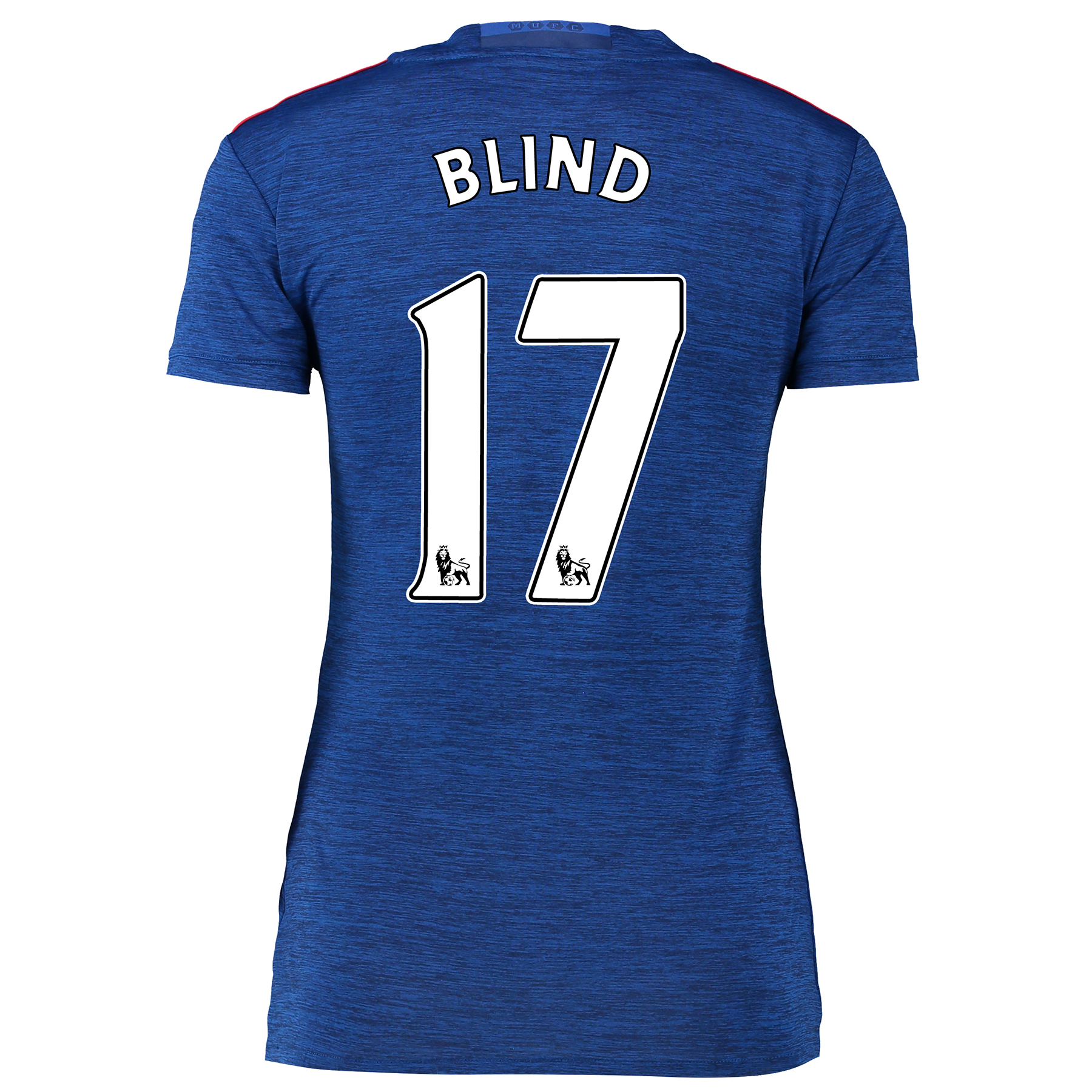 Manchester United Away Shirt 2016-17 - Womens with Blind 17 printing