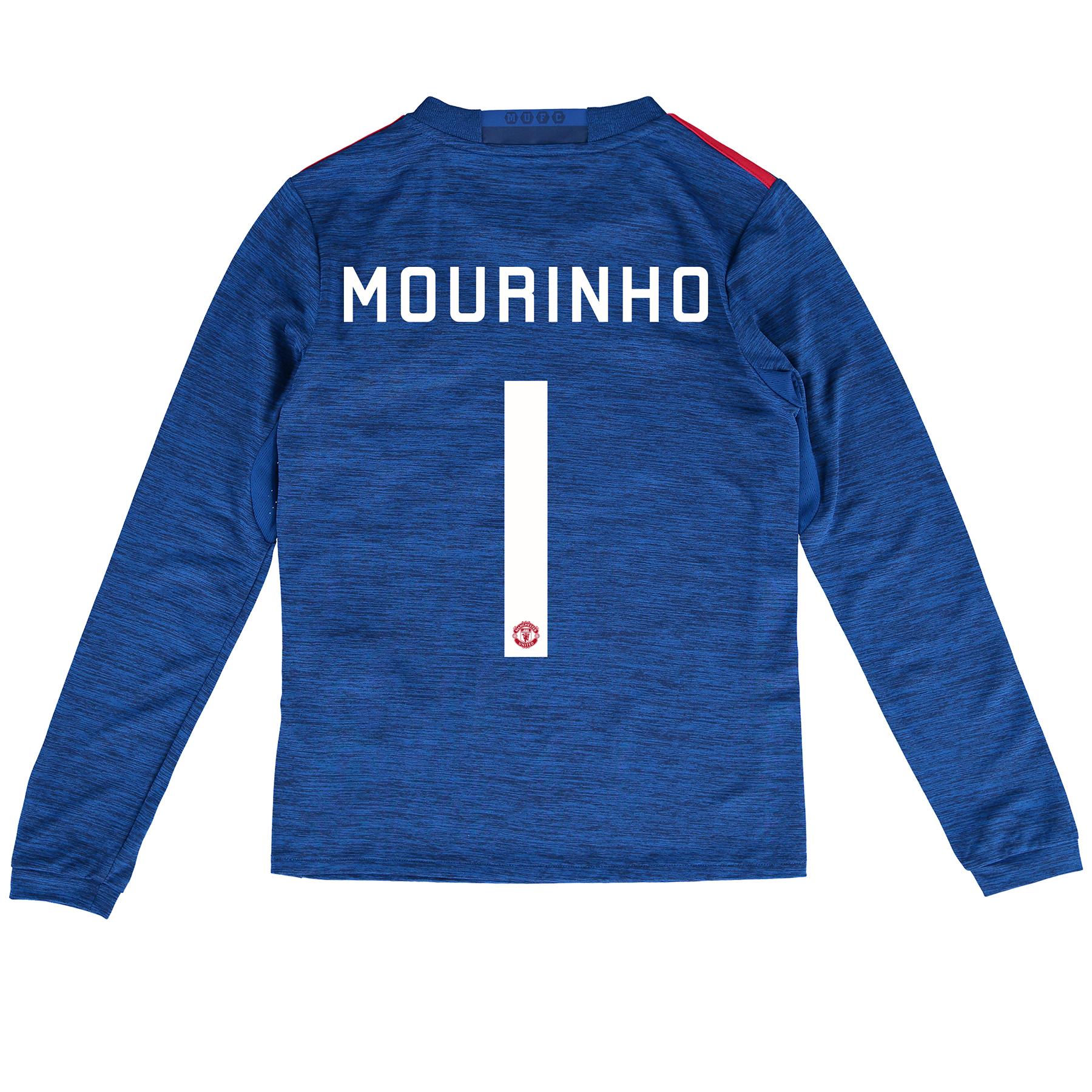 Manchester United Cup Away Shirt 2016-17 - Kids - Long Sleeve with Mou