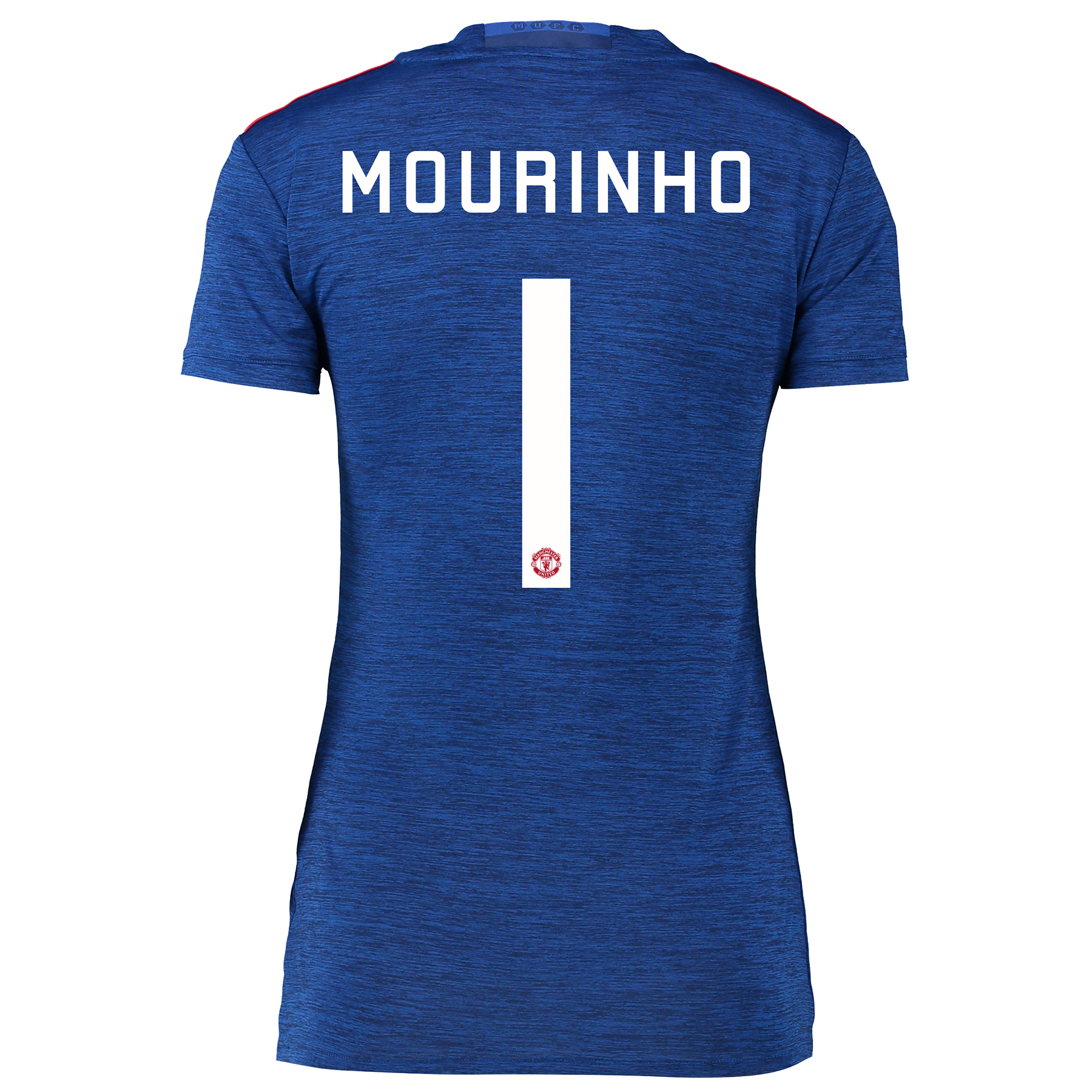 Manchester United Cup Away Shirt 2016-17 - Womens with Mourinho 1 prin