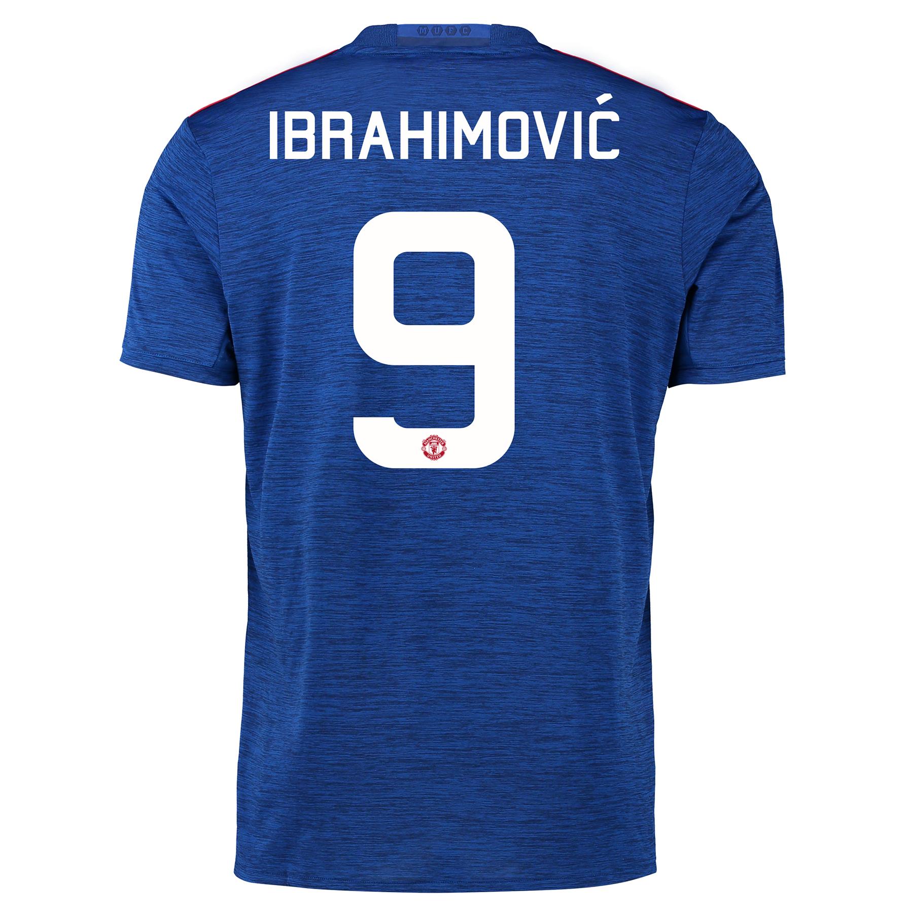 Manchester United Cup Away Shirt 2016-17 with Ibrahimovic 9 printing
