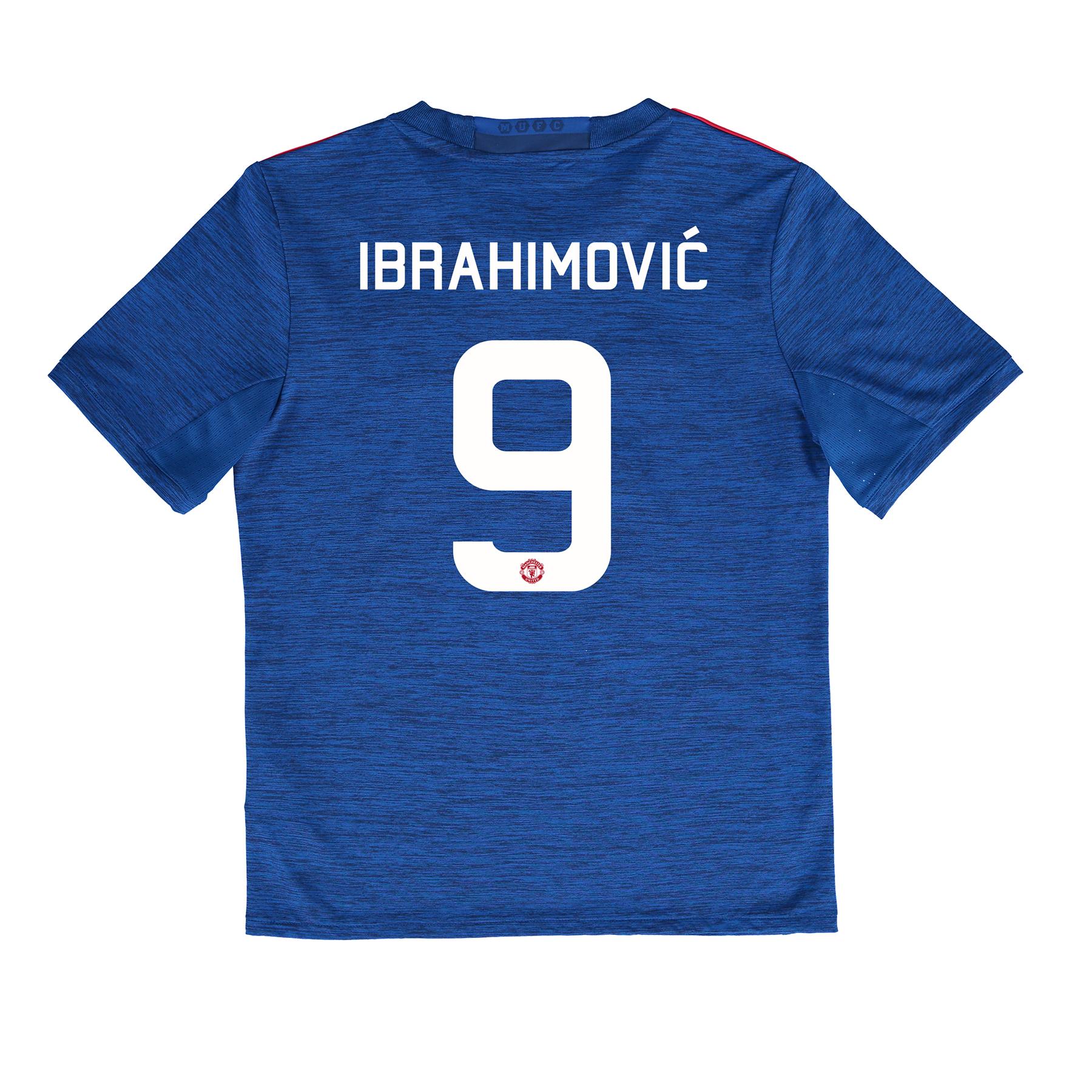 Manchester United Cup Away Shirt 2016-17 - Kids with Ibrahimovic 9 pri