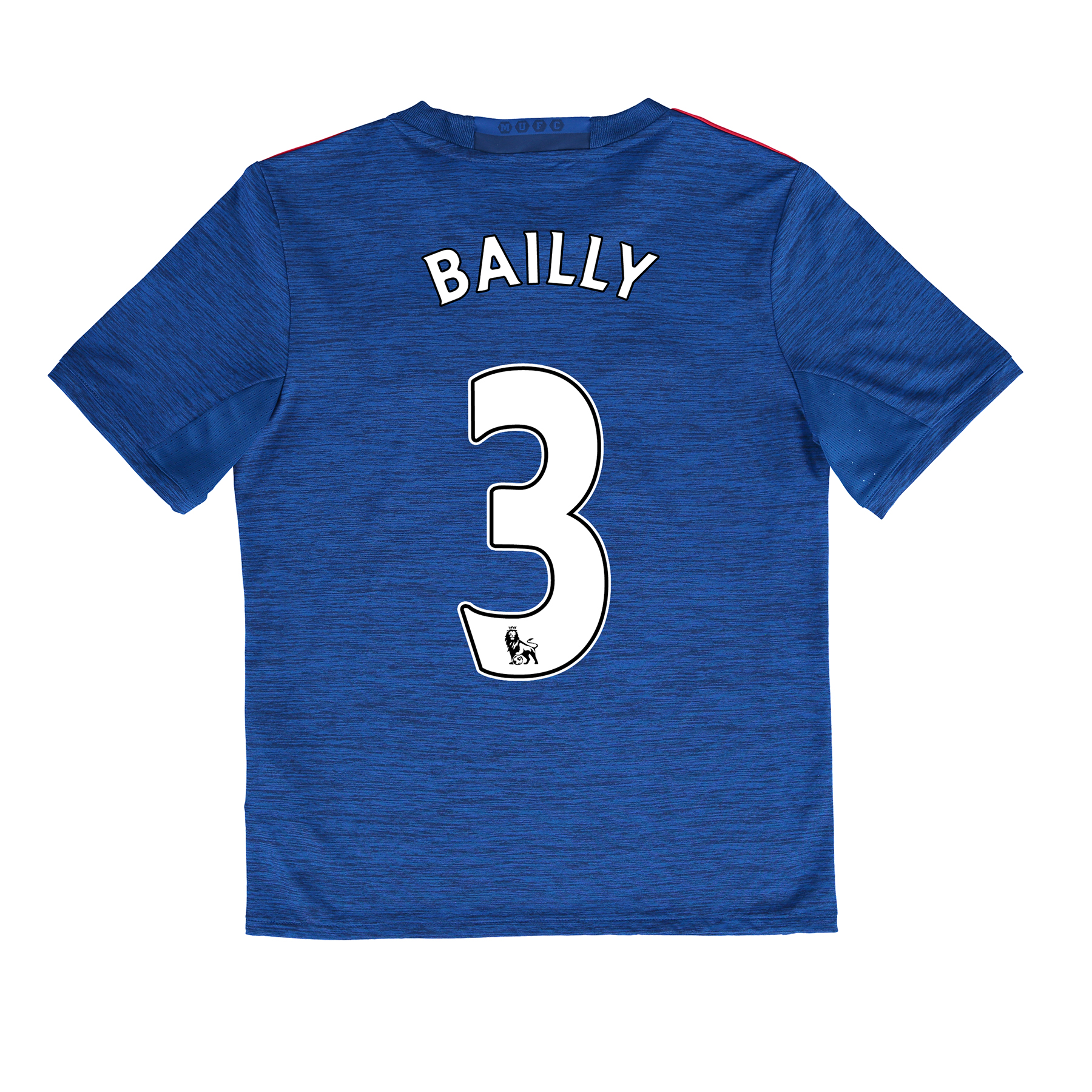 Manchester United Away Shirt 2016-17 - Kids with Bailly 3 printing, Blue