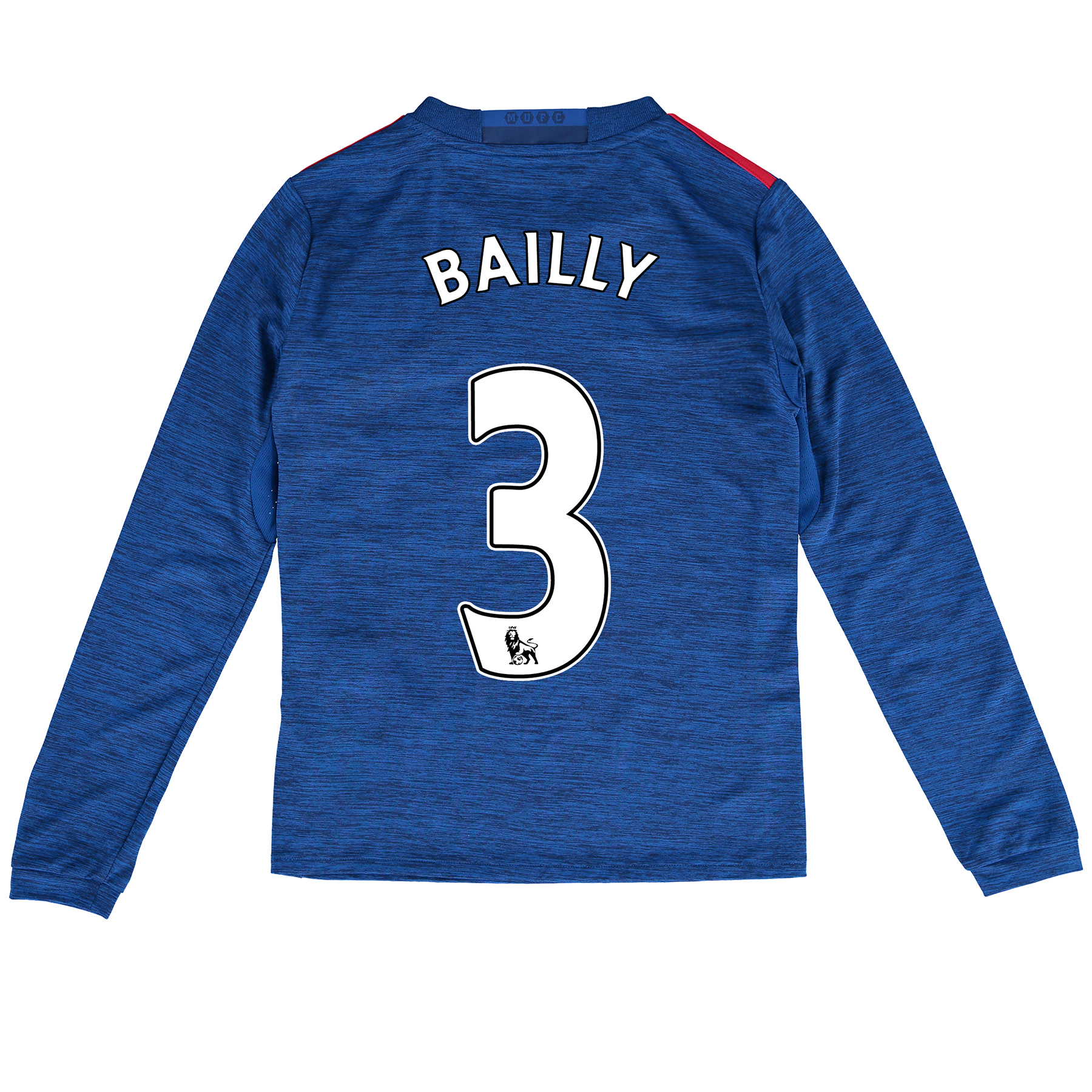 Manchester United Away Shirt 2016-17 - Kids - Long Sleeve with Bailly
