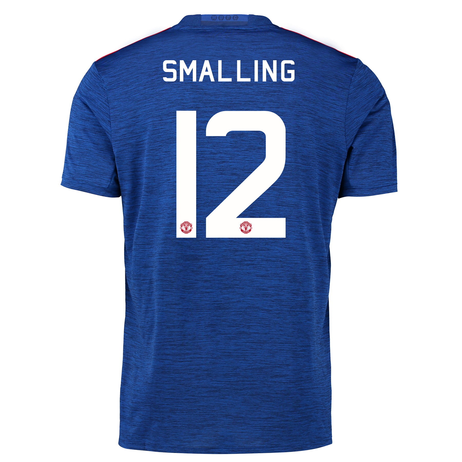 Manchester United Cup Away Shirt 2016-17 with Smalling 12 printing
