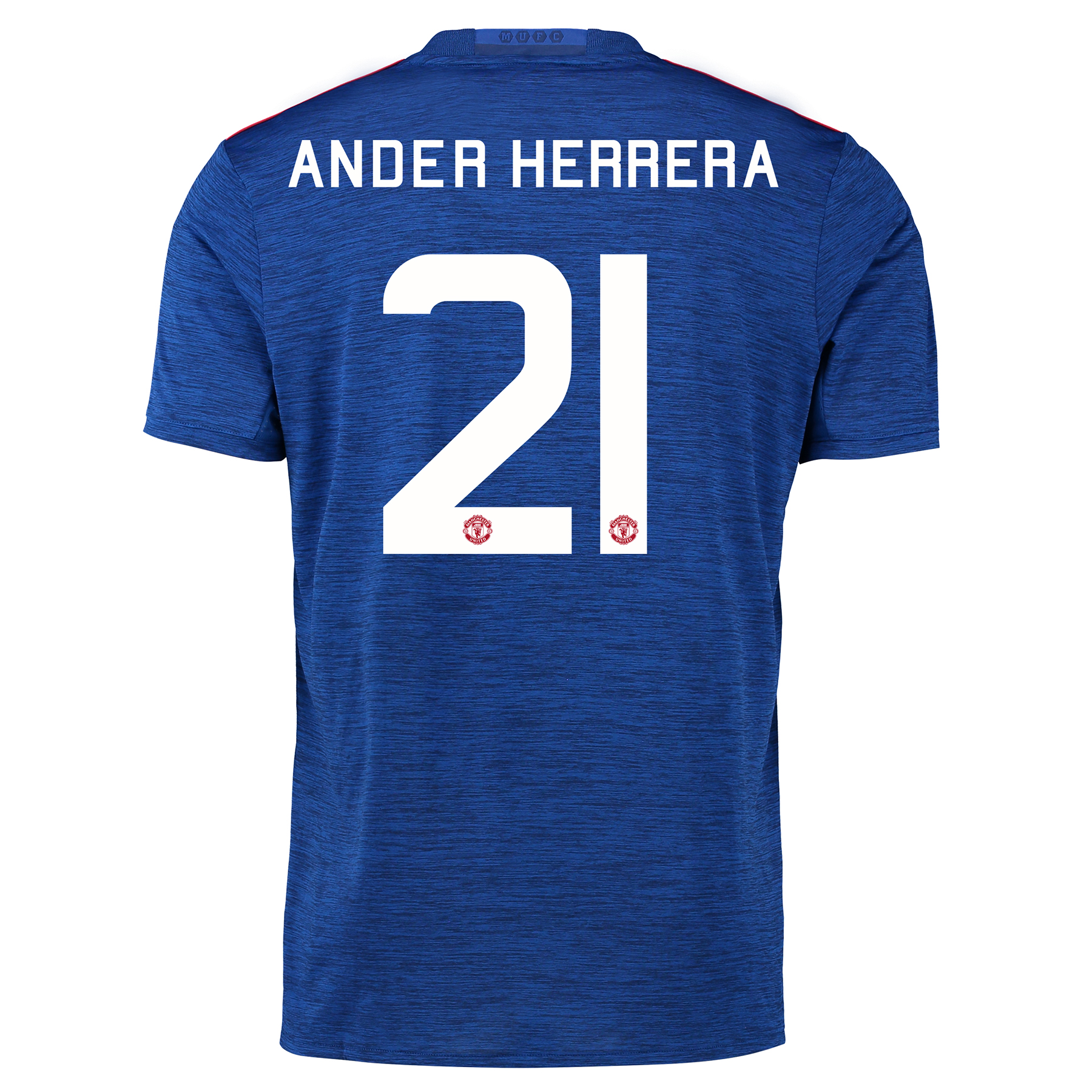 Manchester United Cup Away Shirt 2016-17 with Herrera 21 printing