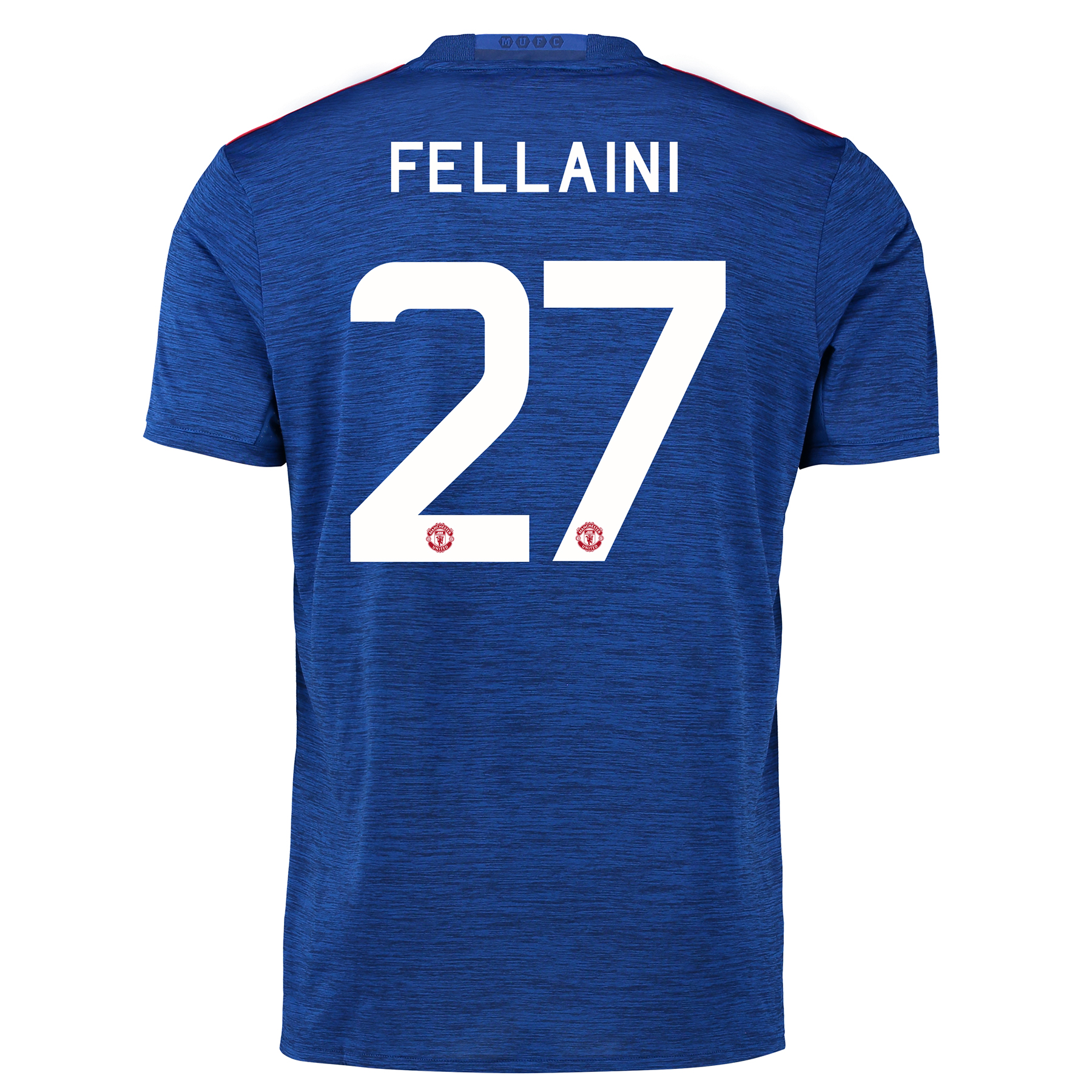 Manchester United Cup Away Shirt 2016-17 with Fellaini 27 printing