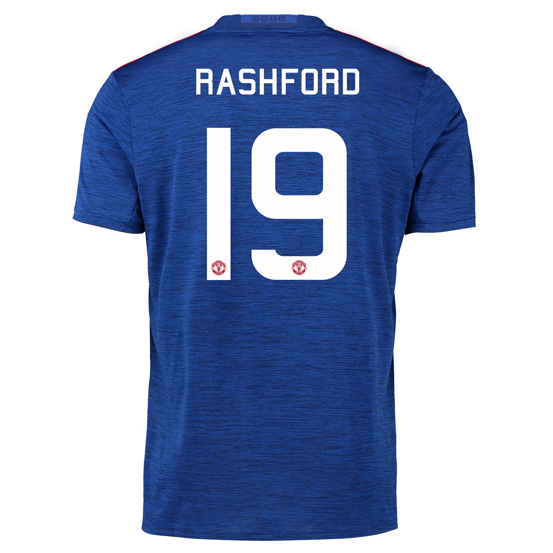 Manchester United Cup Away Shirt 2016-17 with Rashford 19 printing