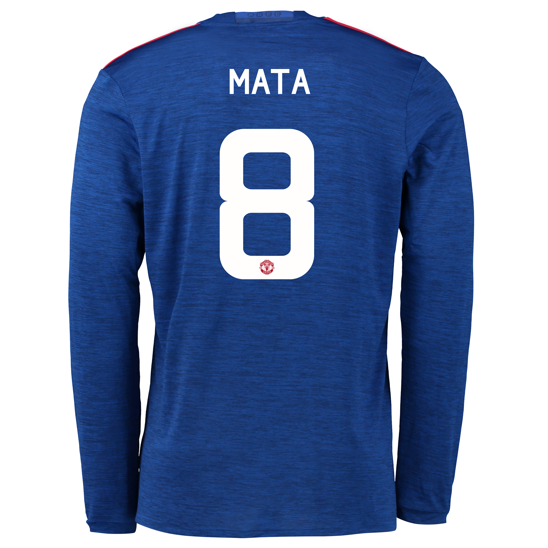 Manchester United Cup Away Shirt 2016-17 - Long Sleeve with Mata 8 pri