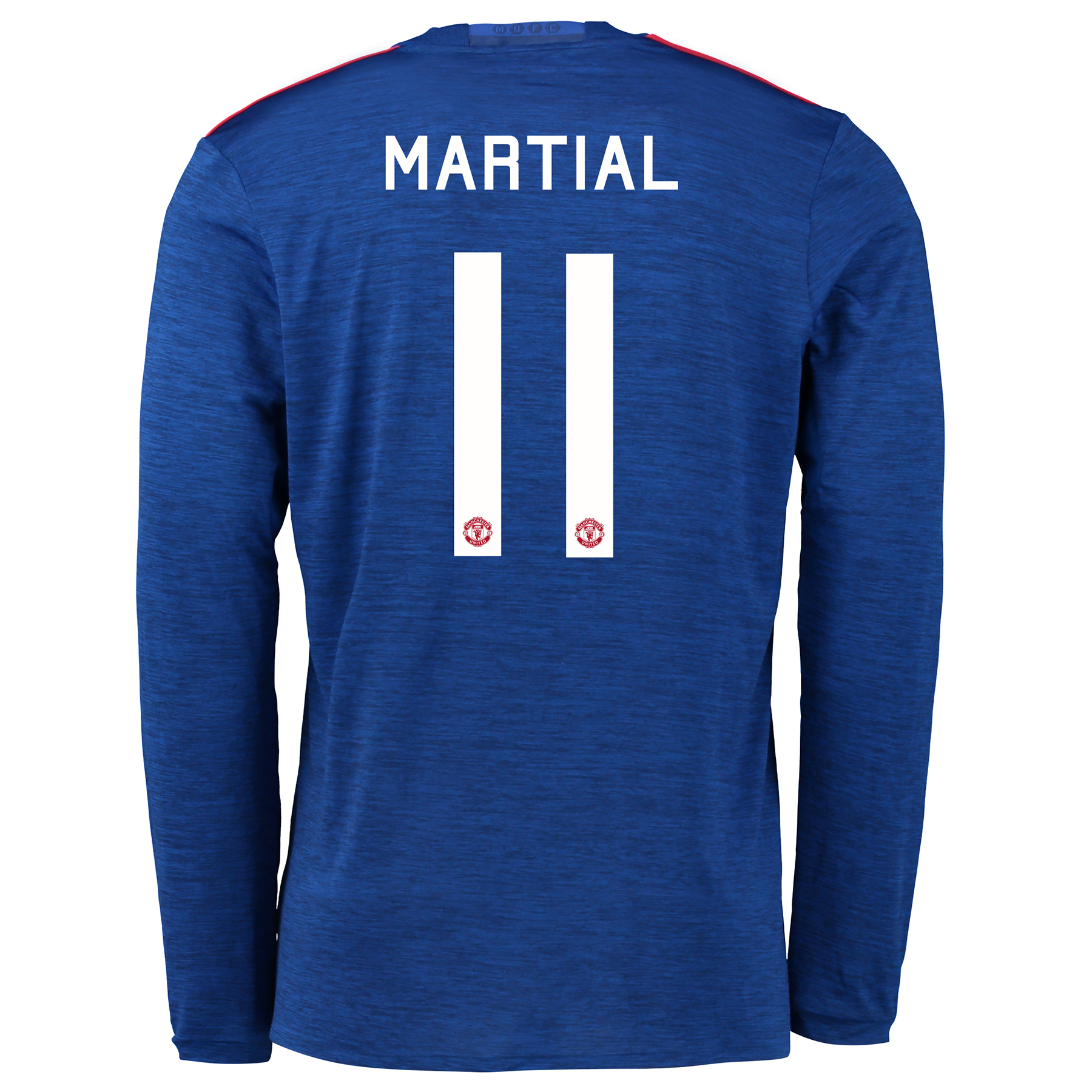 Manchester United Cup Away Shirt 2016-17 - Long Sleeve with Martial 11