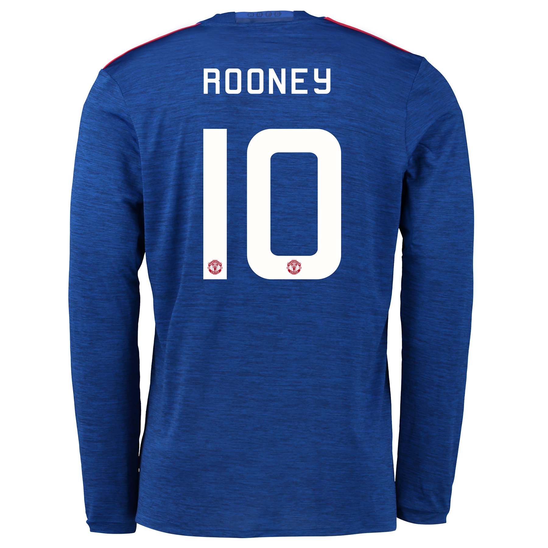 Manchester United Cup Away Shirt 2016-17 - Long Sleeve with Rooney 10