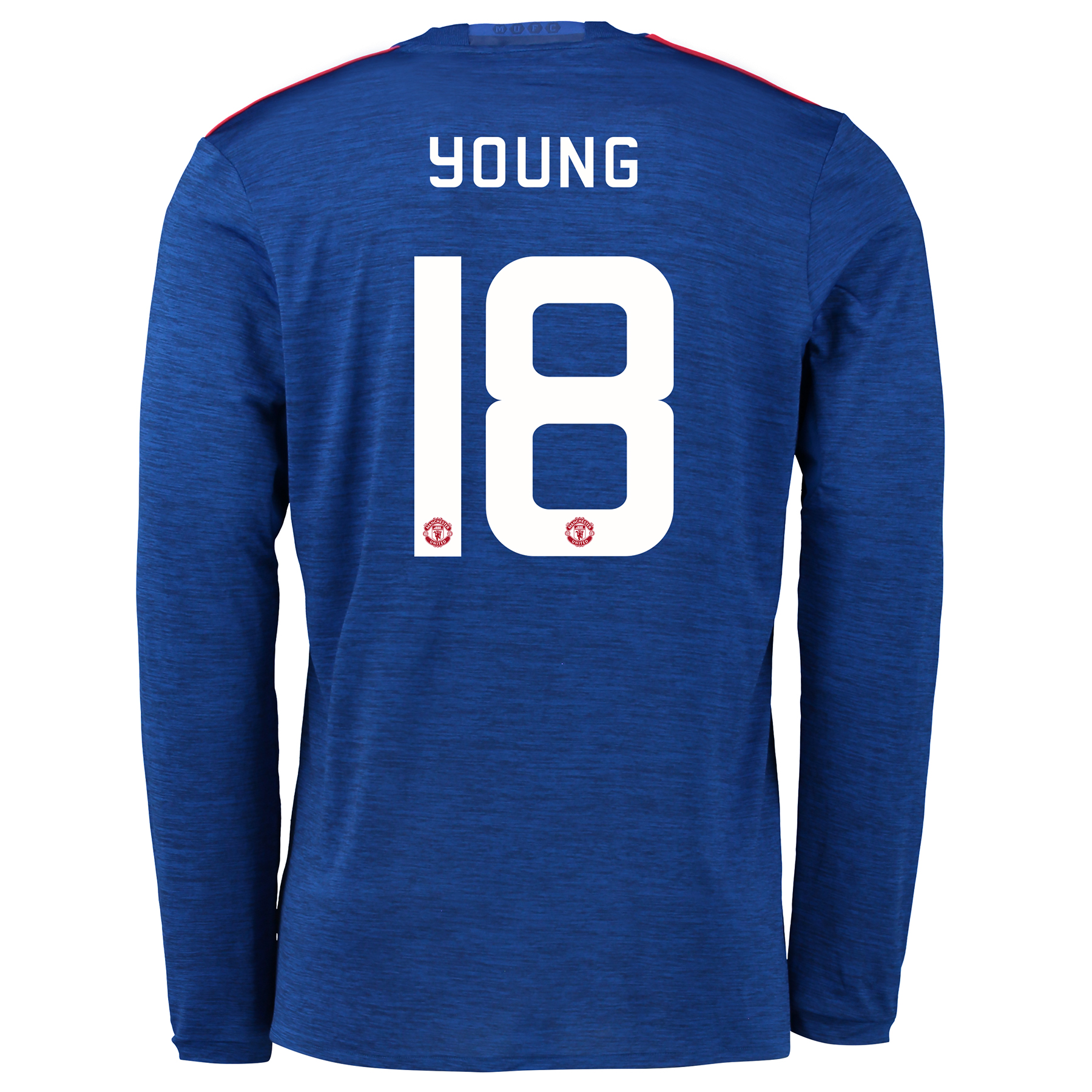 Manchester United Cup Away Shirt 2016-17 - Long Sleeve with Young 18 p