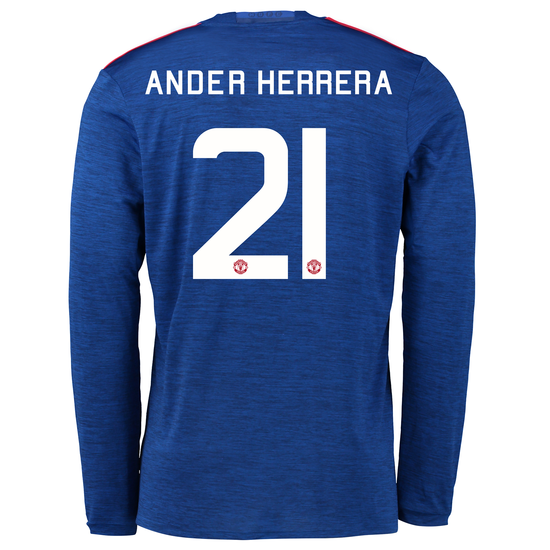 Manchester United Cup Away Shirt 2016-17 - Long Sleeve with Herrera 21