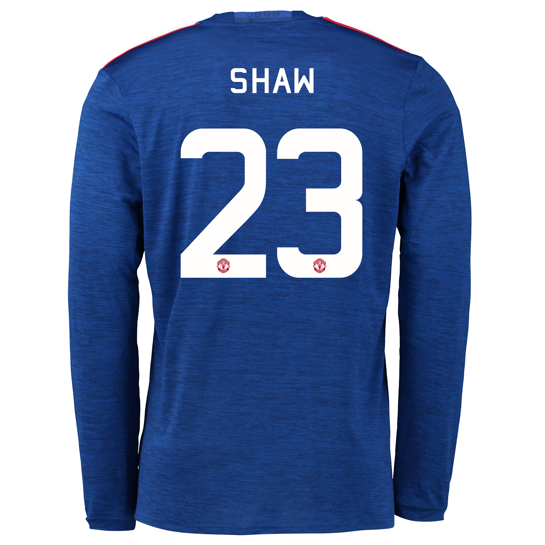 Manchester United Cup Away Shirt 2016-17 - Long Sleeve with Shaw 23 pr