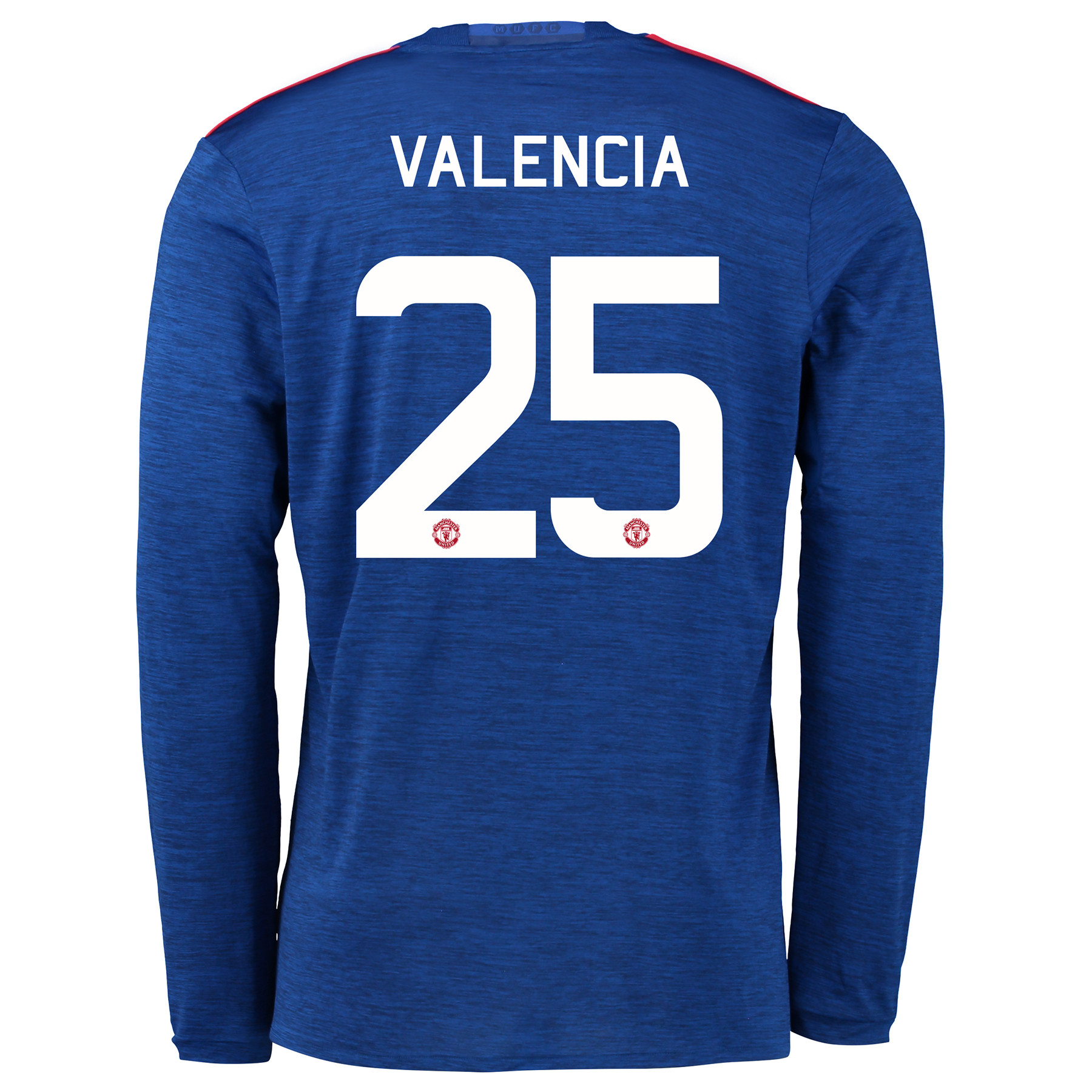 Manchester United Cup Away Shirt 2016-17 - Long Sleeve with Valencia 2
