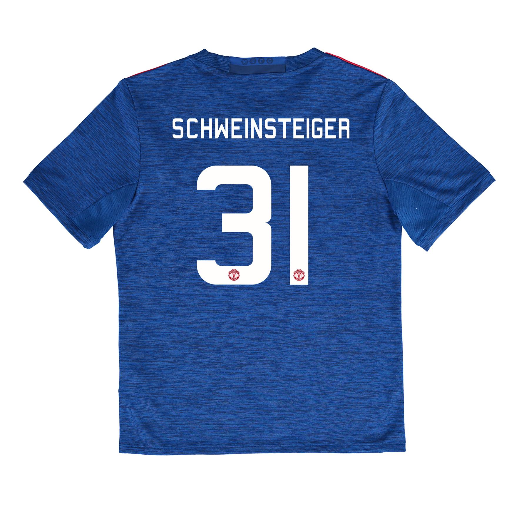 Manchester United Cup Away Shirt 2016-17 - Kids with Schweinsteiger 31