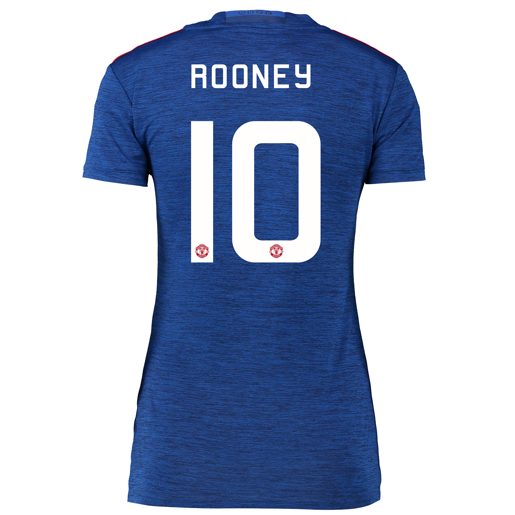 Manchester United Cup Away Shirt 2016-17 - Womens with Rooney 10 print