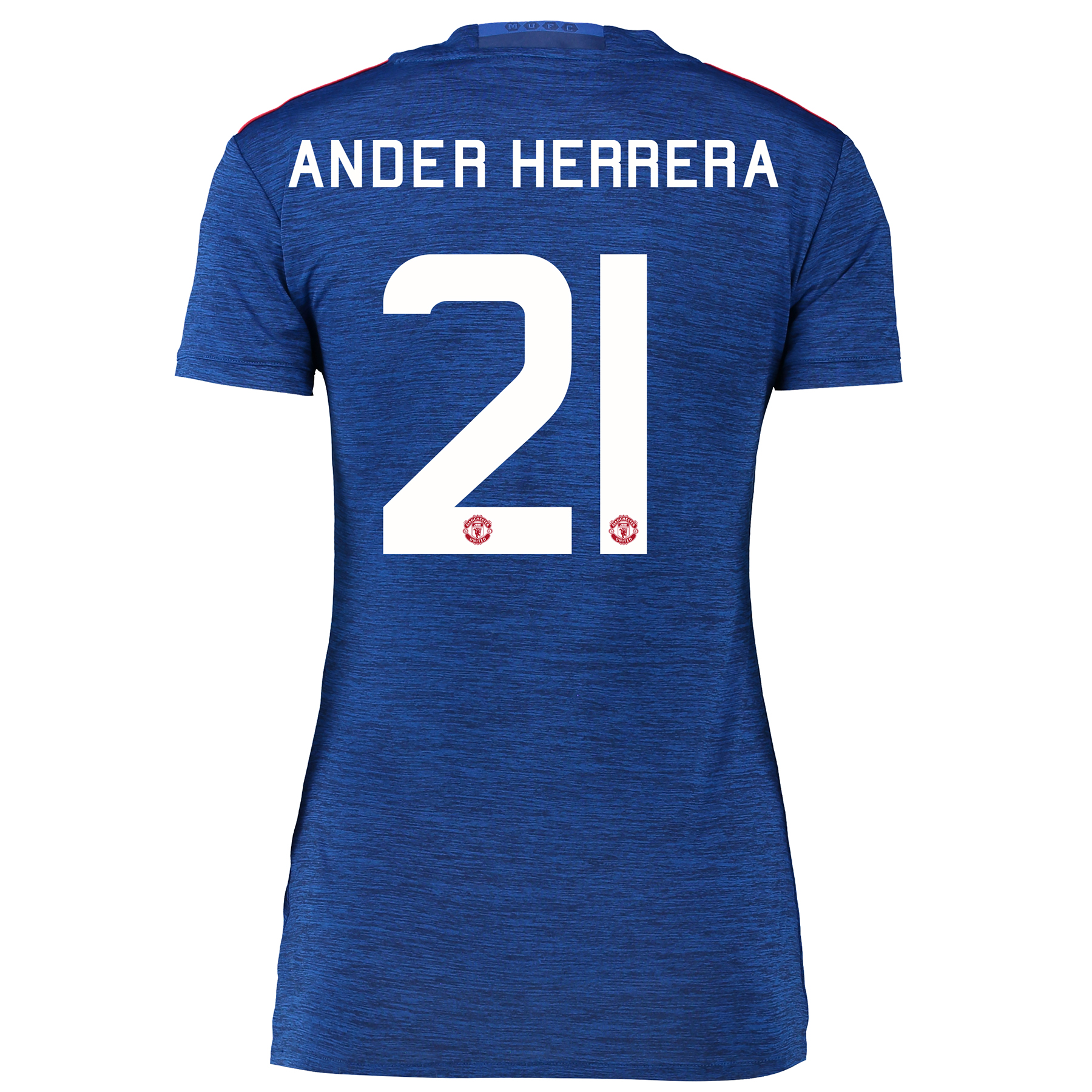 Manchester United Cup Away Shirt 2016-17 - Womens with Herrera 21 prin