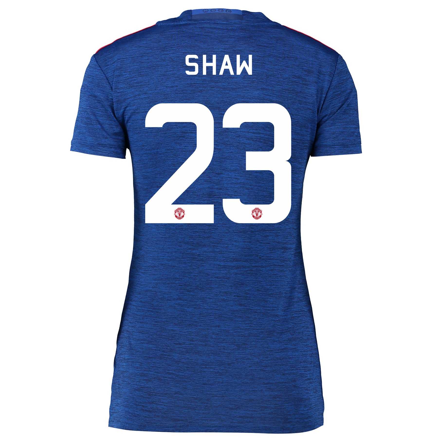 Manchester United Cup Away Shirt 2016-17 - Womens with Shaw 23 printin