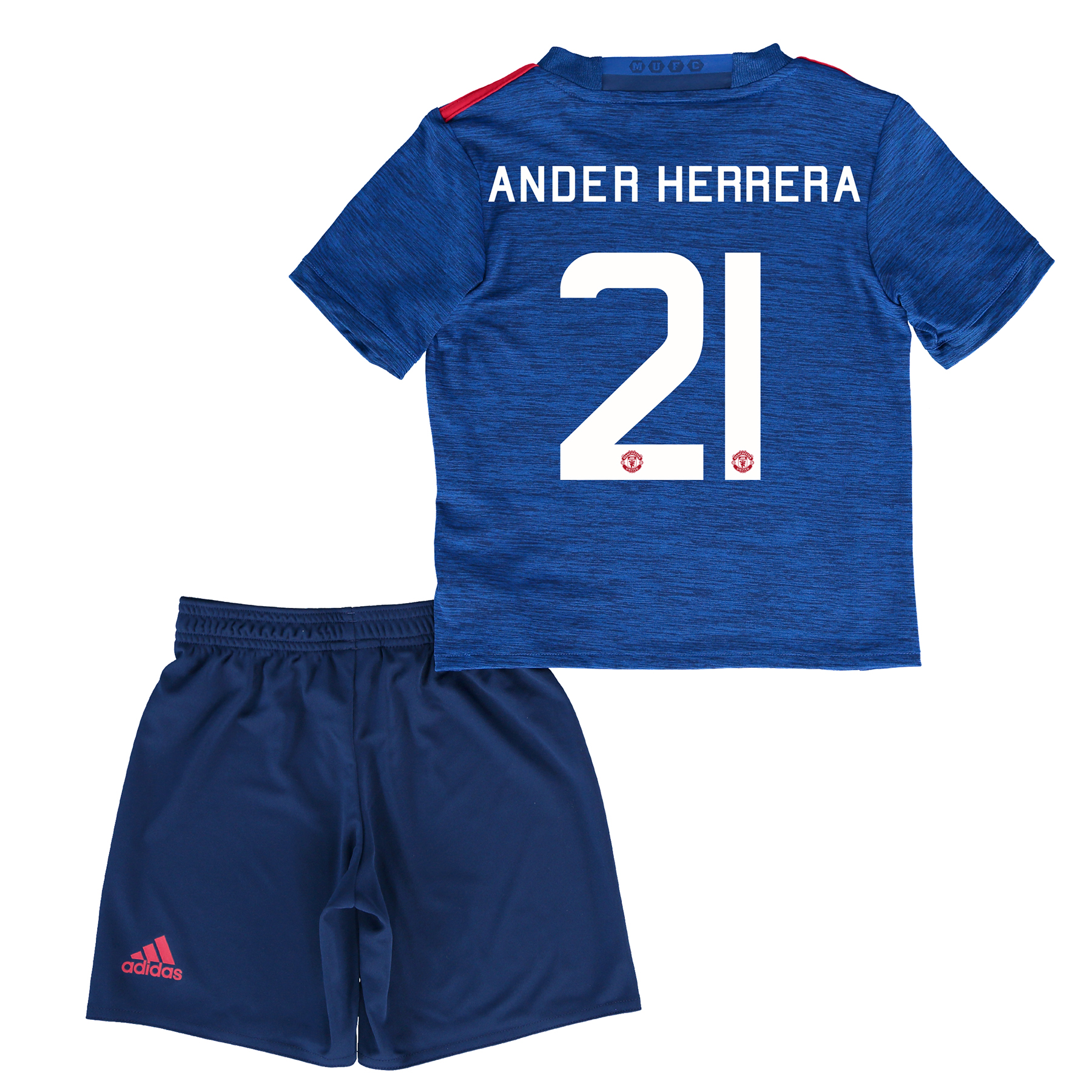 Manchester United Cup Away Baby Kit 2016-17 with Herrera 21 printing