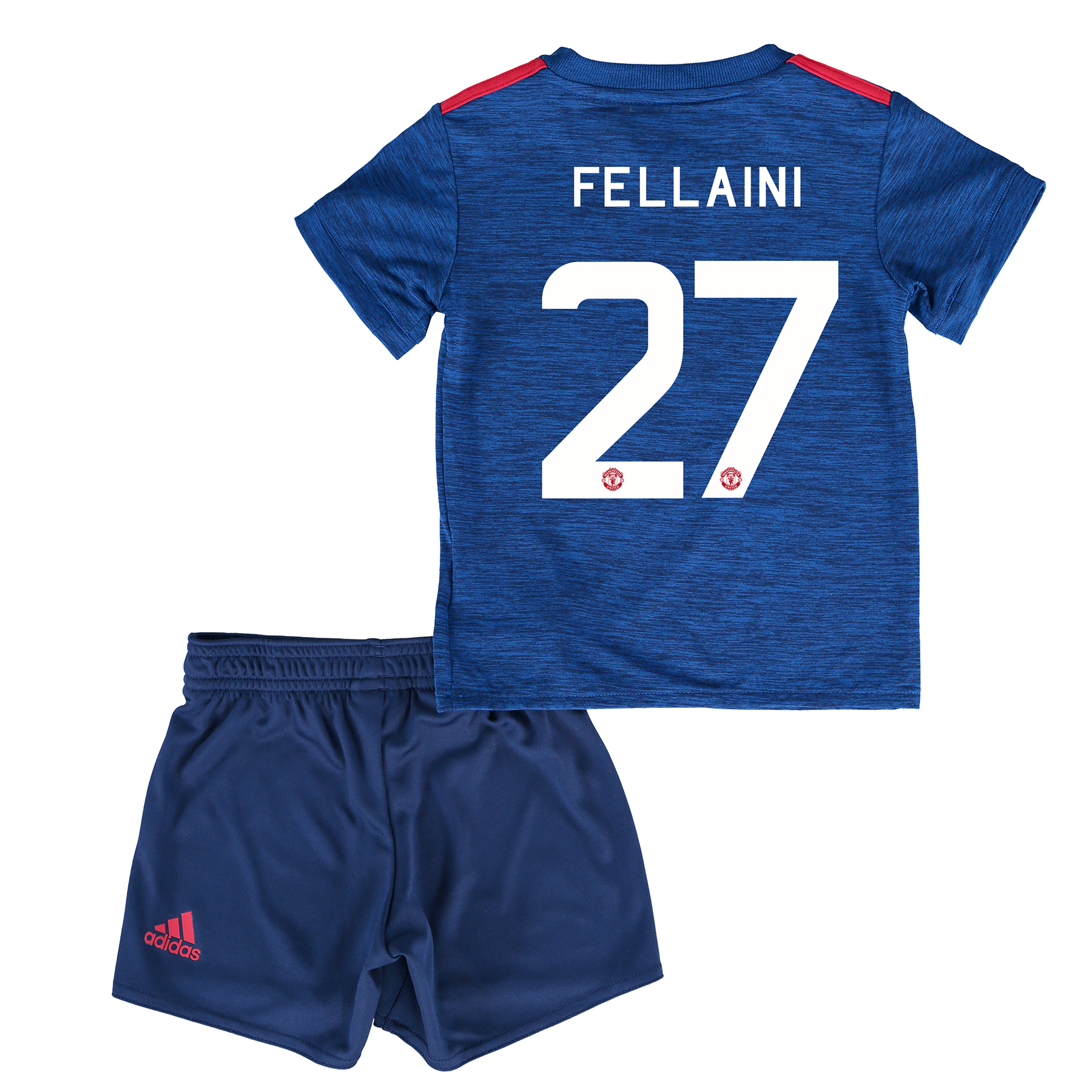 Manchester United Cup Away Baby Kit 2016-17 with Fellaini 27 printing