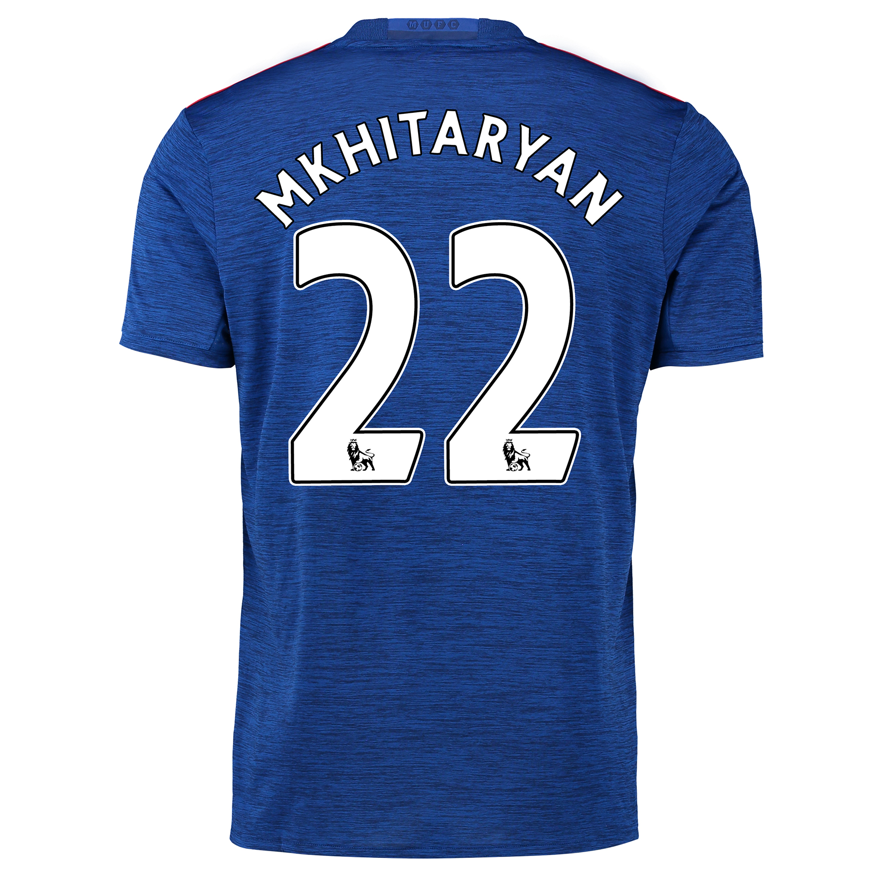 Manchester United Away Shirt 2016-17 with Mkhitaryan 22 printing