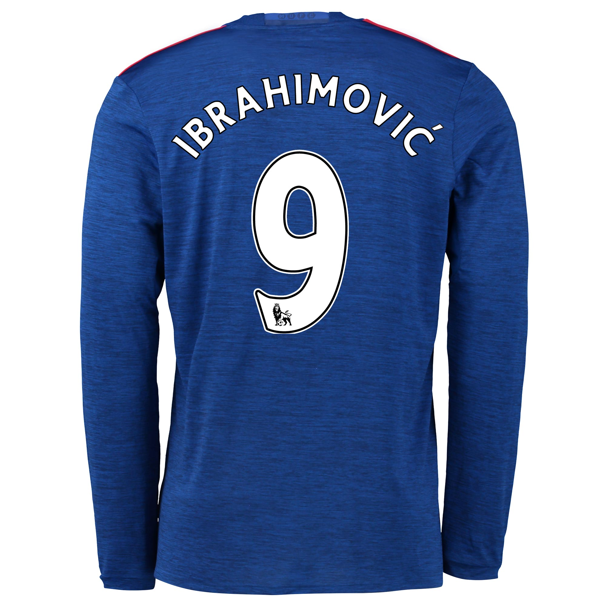 Manchester United Away Shirt 2016-17 - Long Sleeve with Ibrahimovic 9