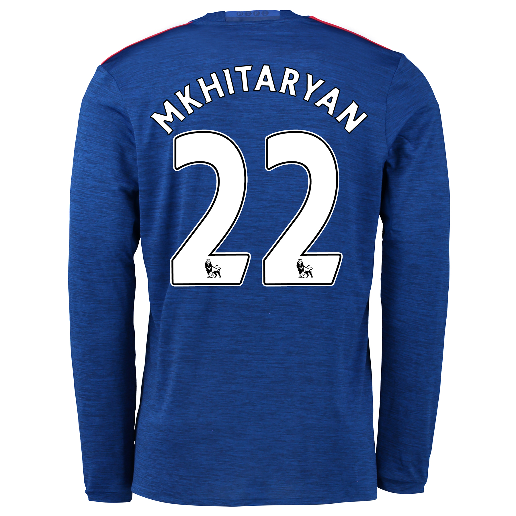 Manchester United Away Shirt 2016-17 - Long Sleeve with Mkhitaryan 22