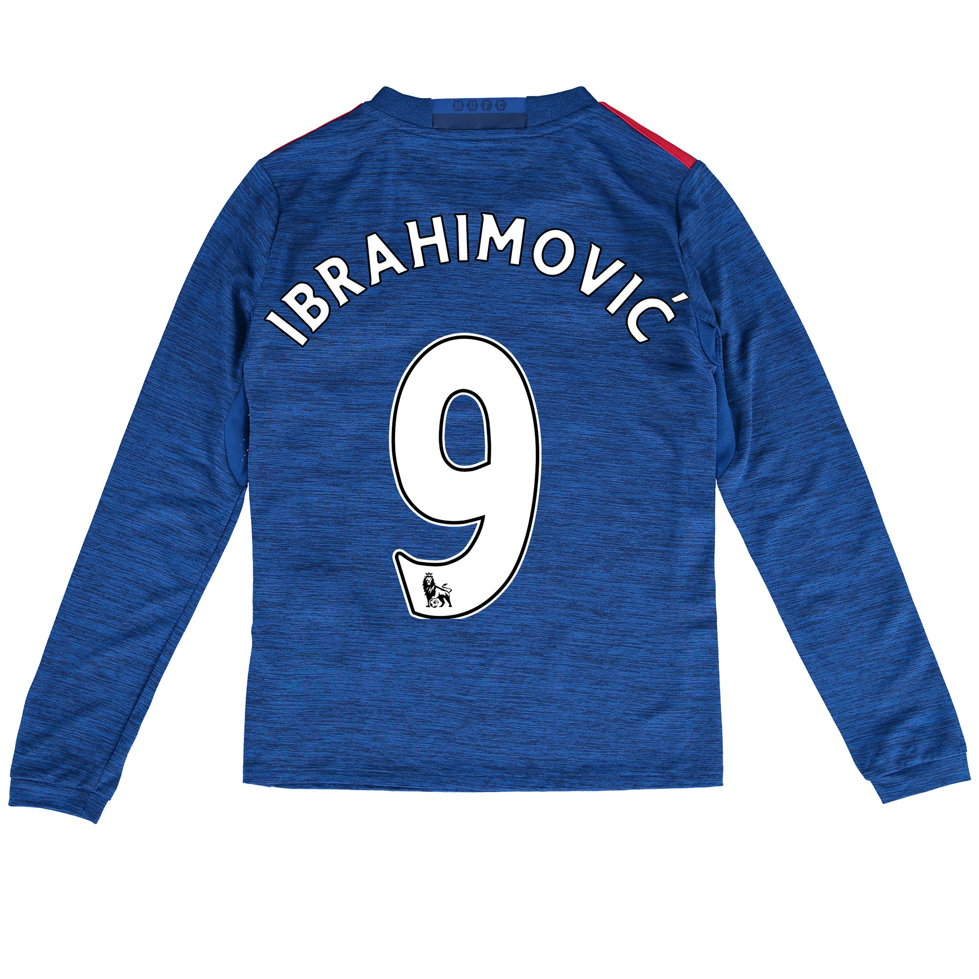 Manchester United Away Shirt 2016-17 - Kids - Long Sleeve with Ibrahim
