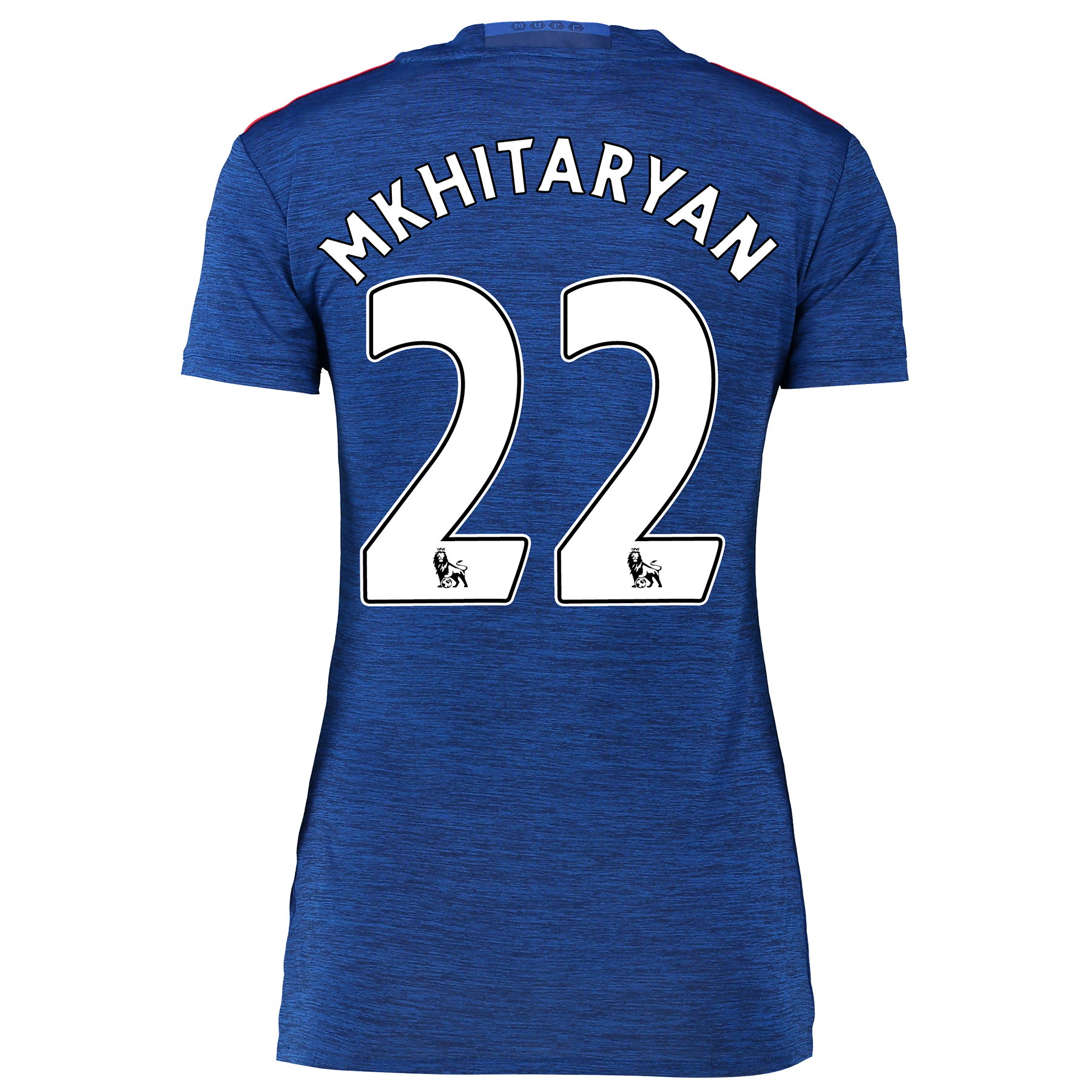 Manchester United Away Shirt 2016-17 - Womens with Mkhitaryan 22 print