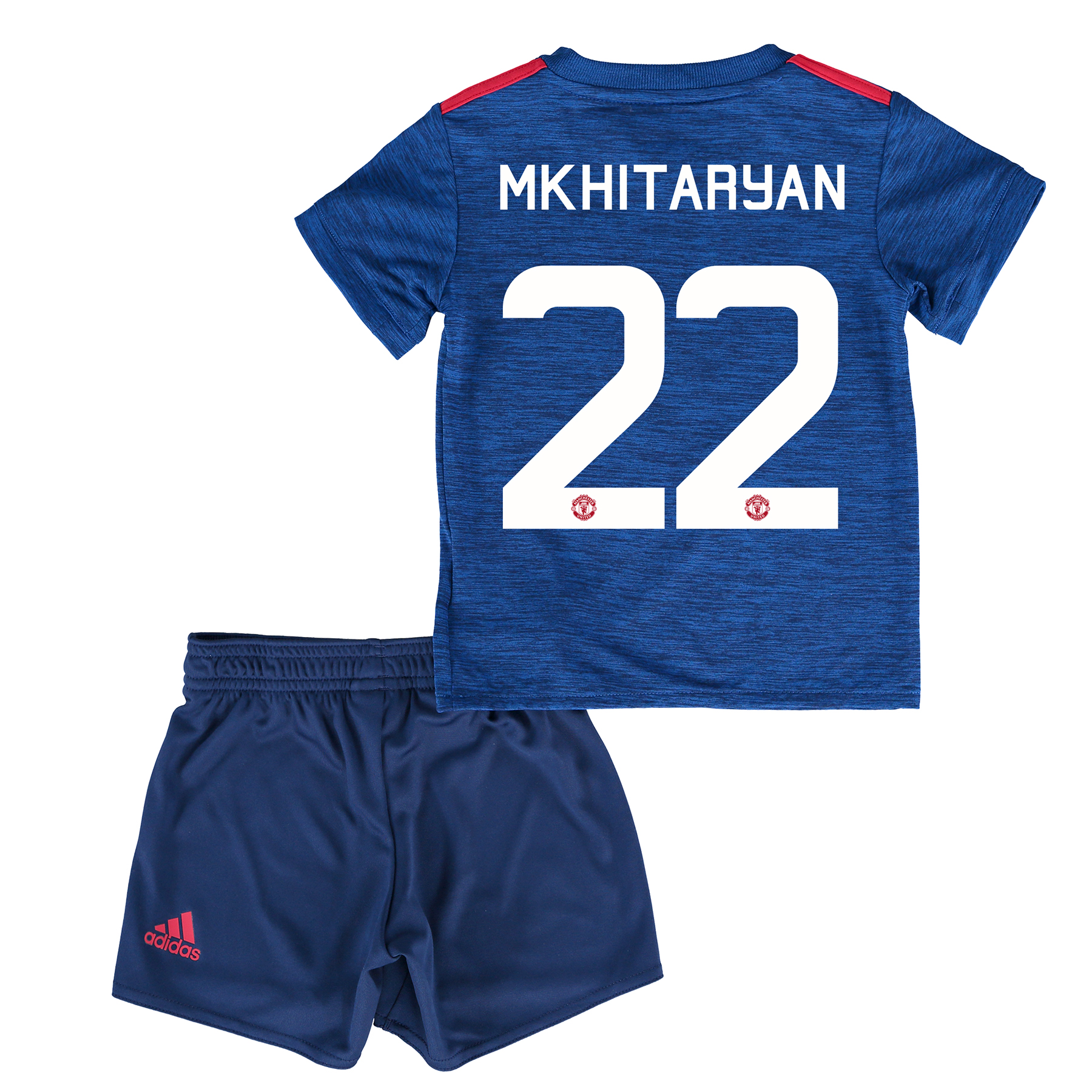 Manchester United Cup Away Baby Kit 2016-17 with Mkhitaryan 22 printin