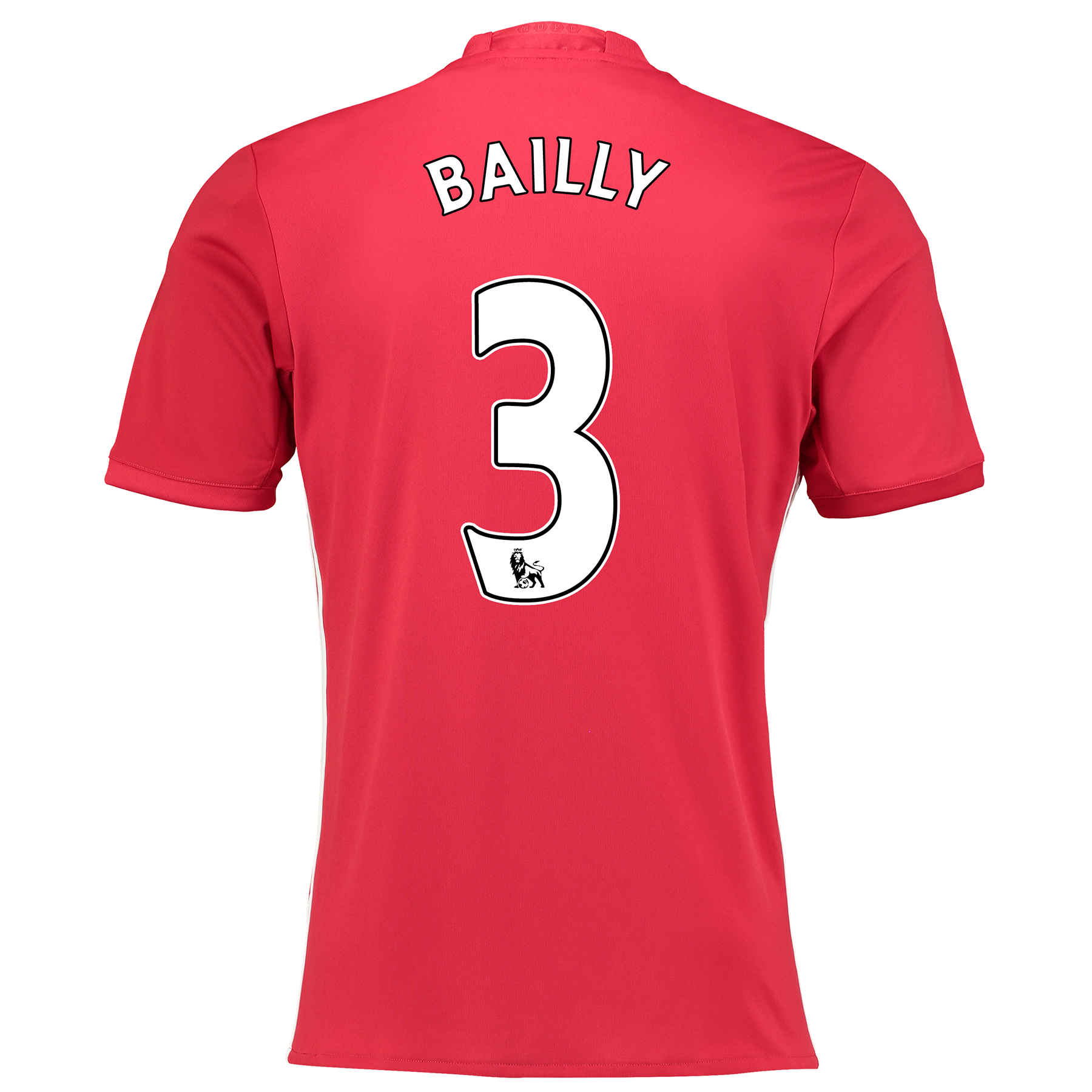 Manchester United Home Shirt 2016-17 with Bailly 3 printing