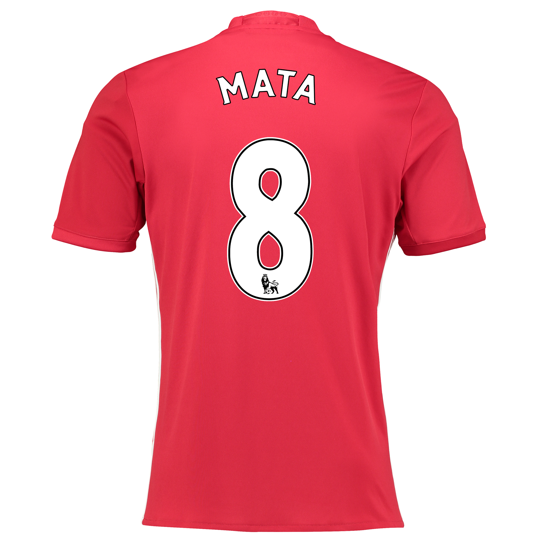 Manchester United Home Shirt 2016-17 with Mata 8 printing