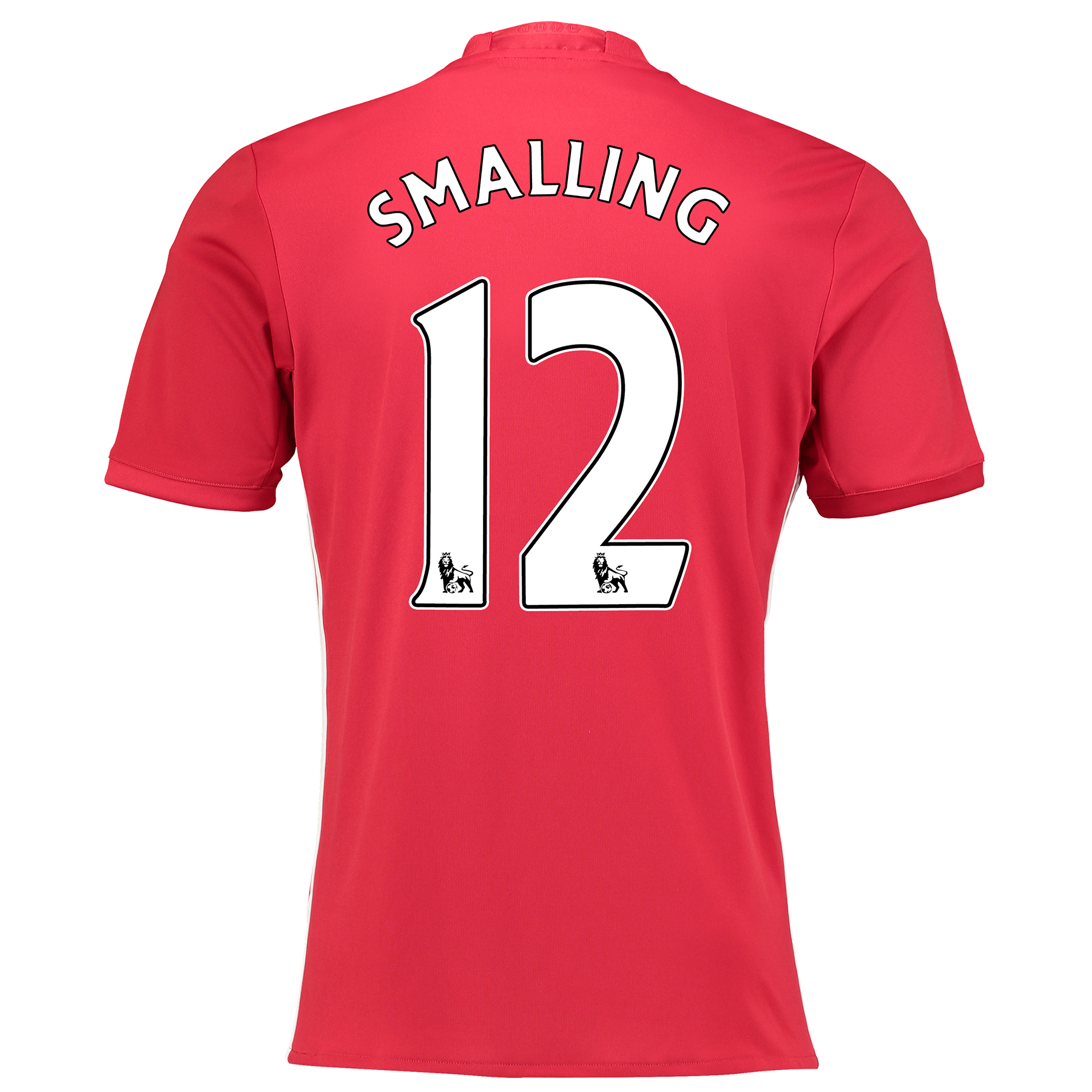 Manchester United Home Shirt 2016-17 with Smalling 12 printing