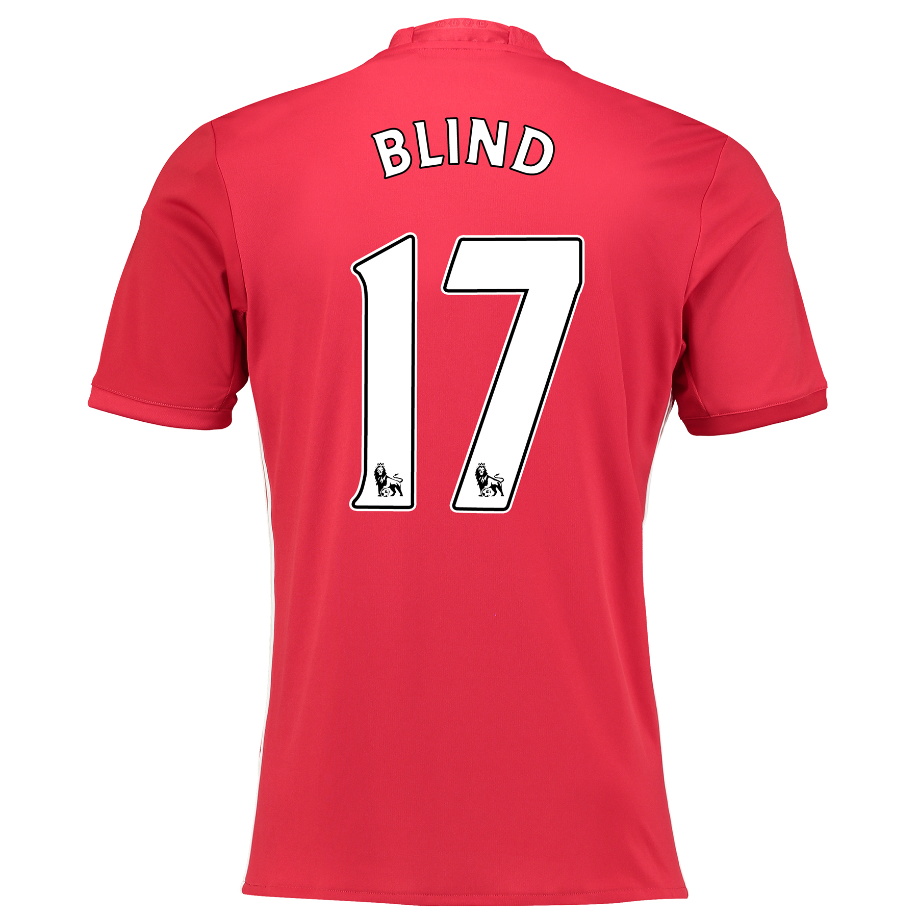 Manchester United Home Shirt 2016-17 with Blind 17 printing