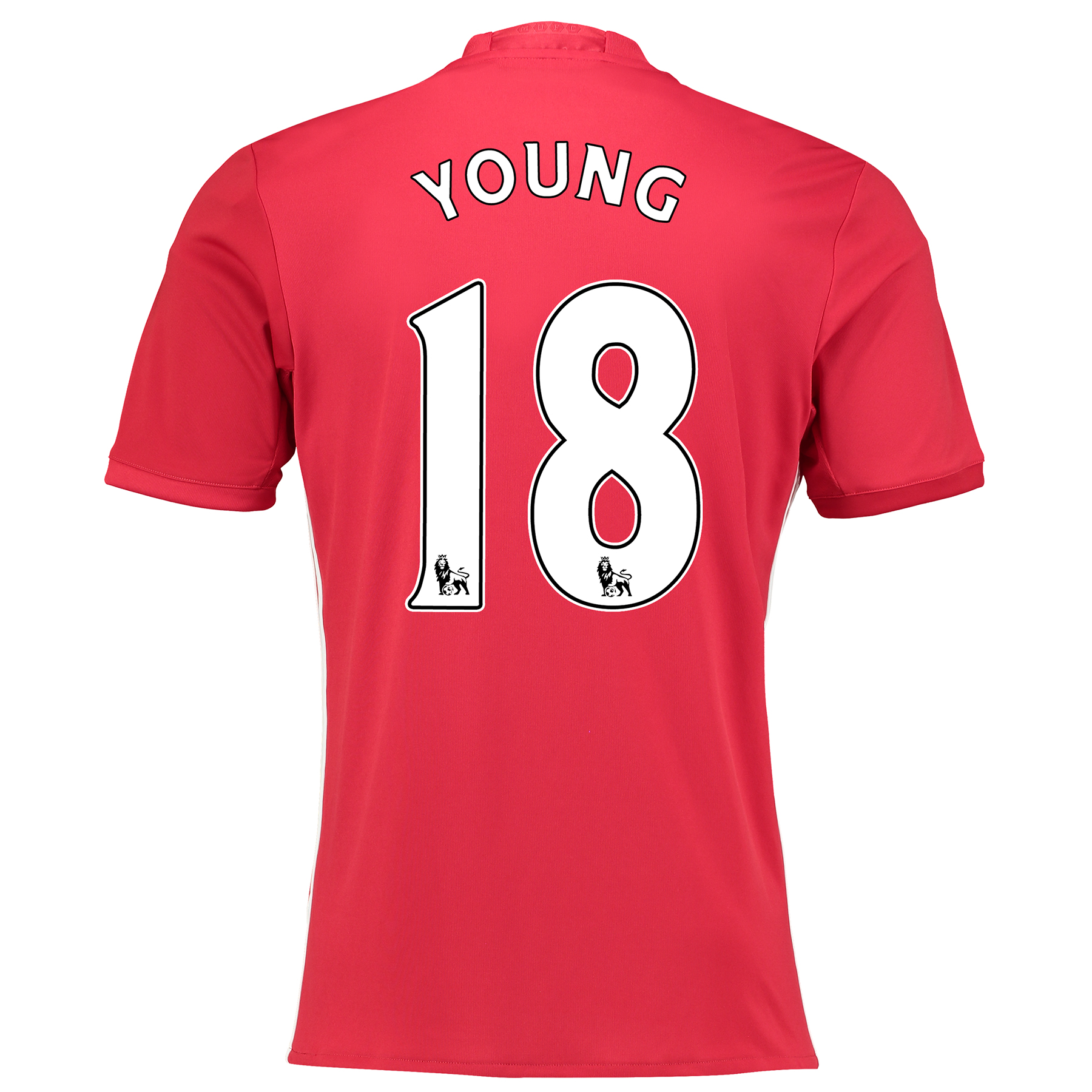 Manchester United Home Shirt 2016-17 with Young 18 printing