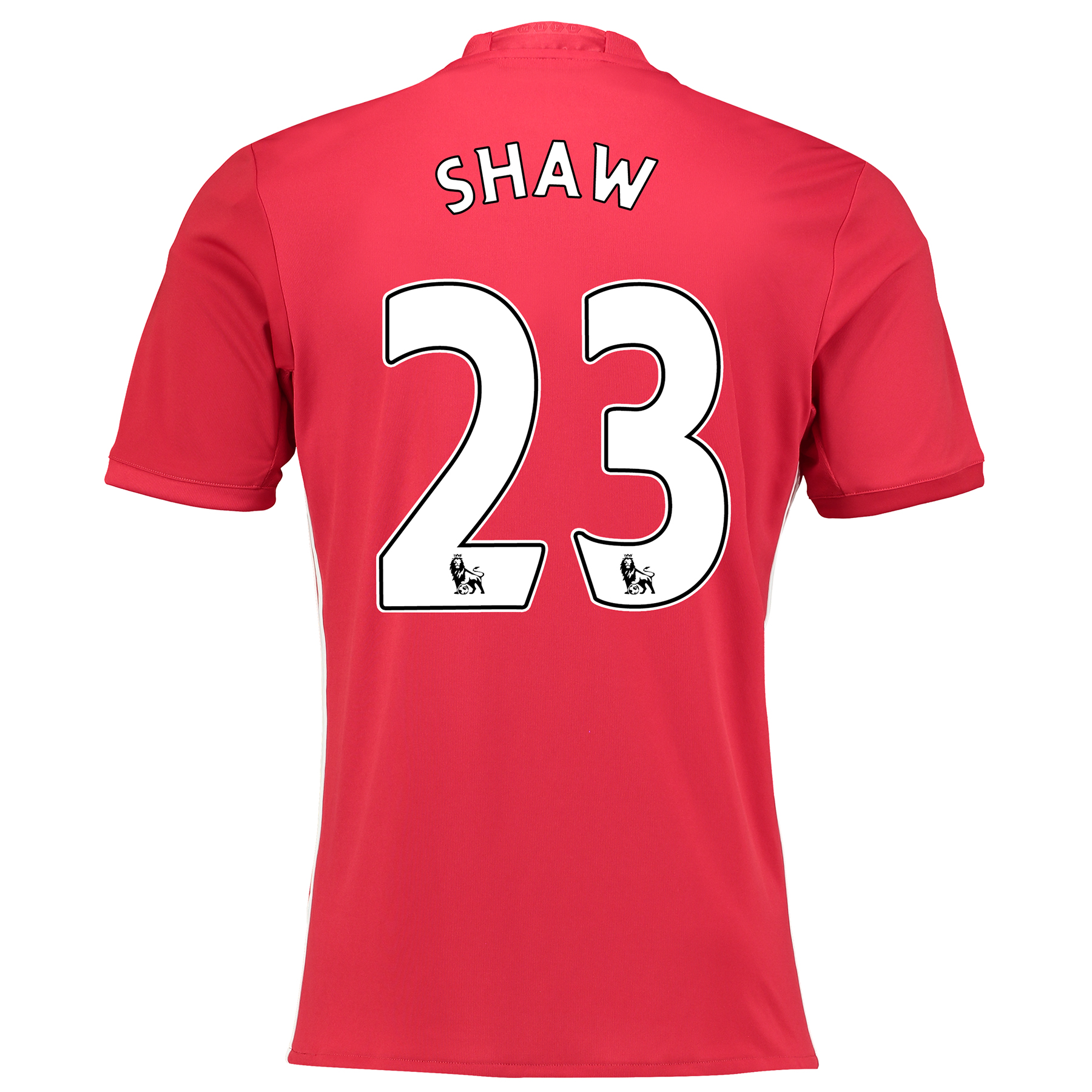 Manchester United Home Shirt 2016-17 with Shaw 23 printing