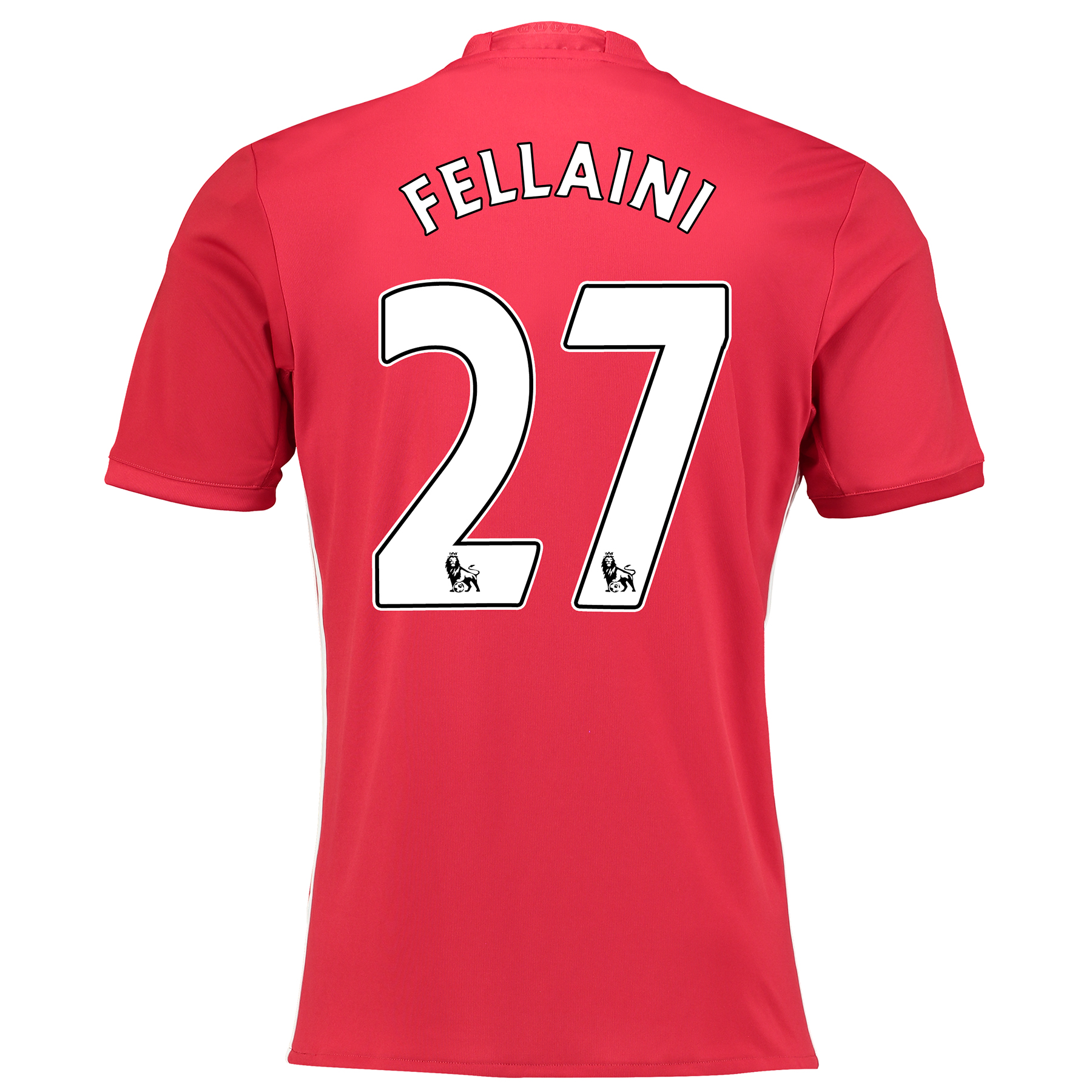 Manchester United Home Shirt 2016-17 with Fellaini 27 printing