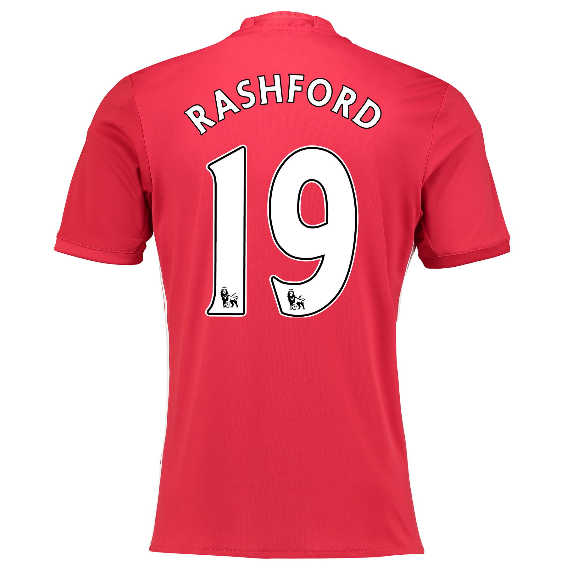 Manchester United Home Shirt 2016-17 with Rashford 19 printing